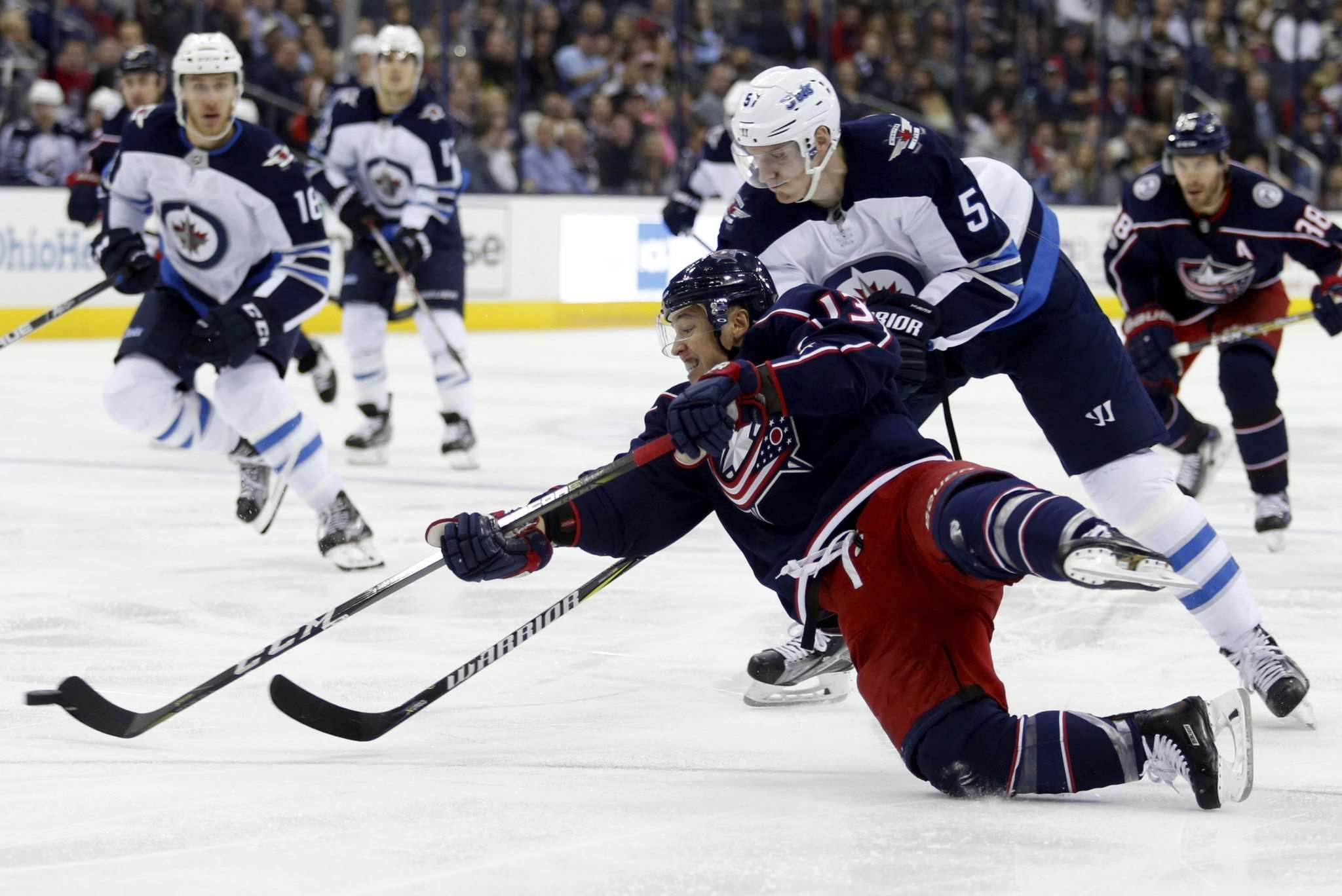 Blue Jackets best struggling Sabres