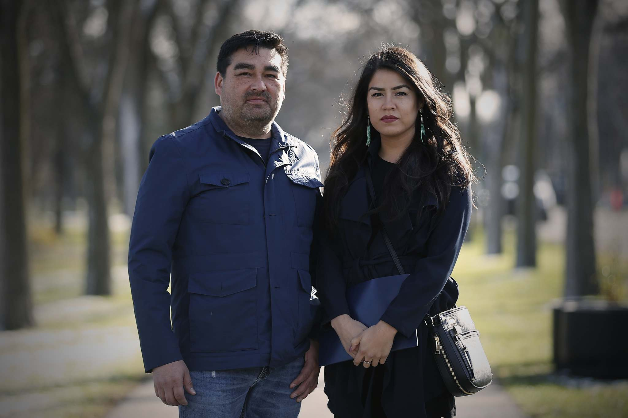 David Thomas and his daughter Cheyenne are designing the Indigenous Peoples' Garden at Assiniboine Park.</p>