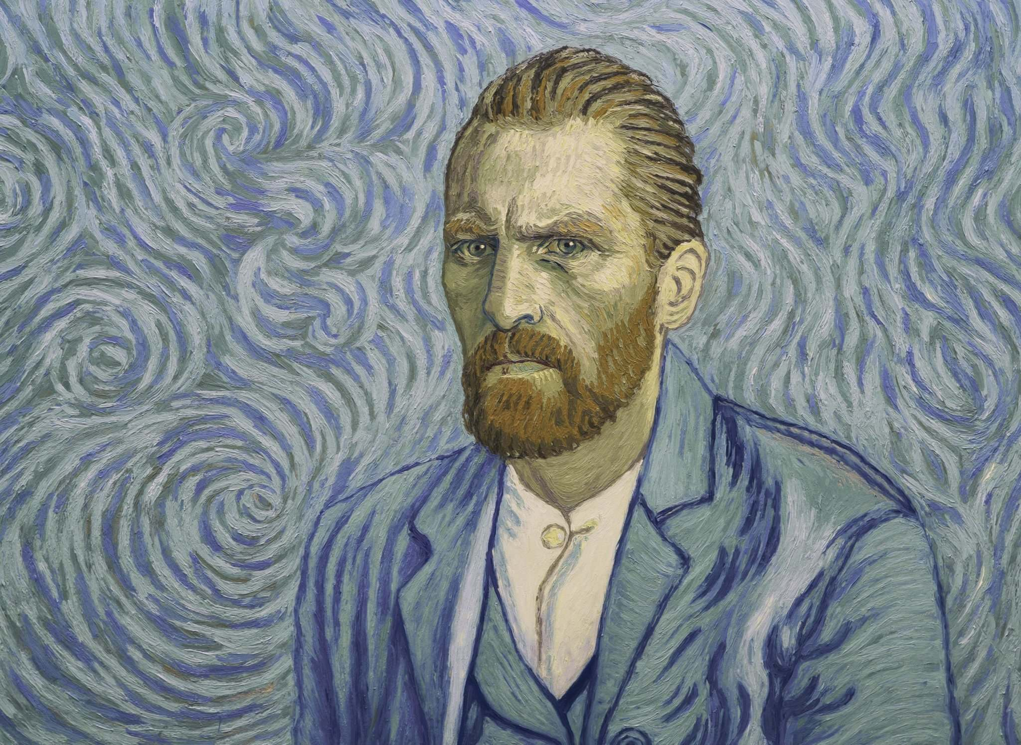 Good Deed Entertainment</p><p>Painter Vincent van Gogh (voiced by Robert Gulaczyk) in Loving Vincent, an animated film in which each frame is a painting created in the style of the artist.</p>
