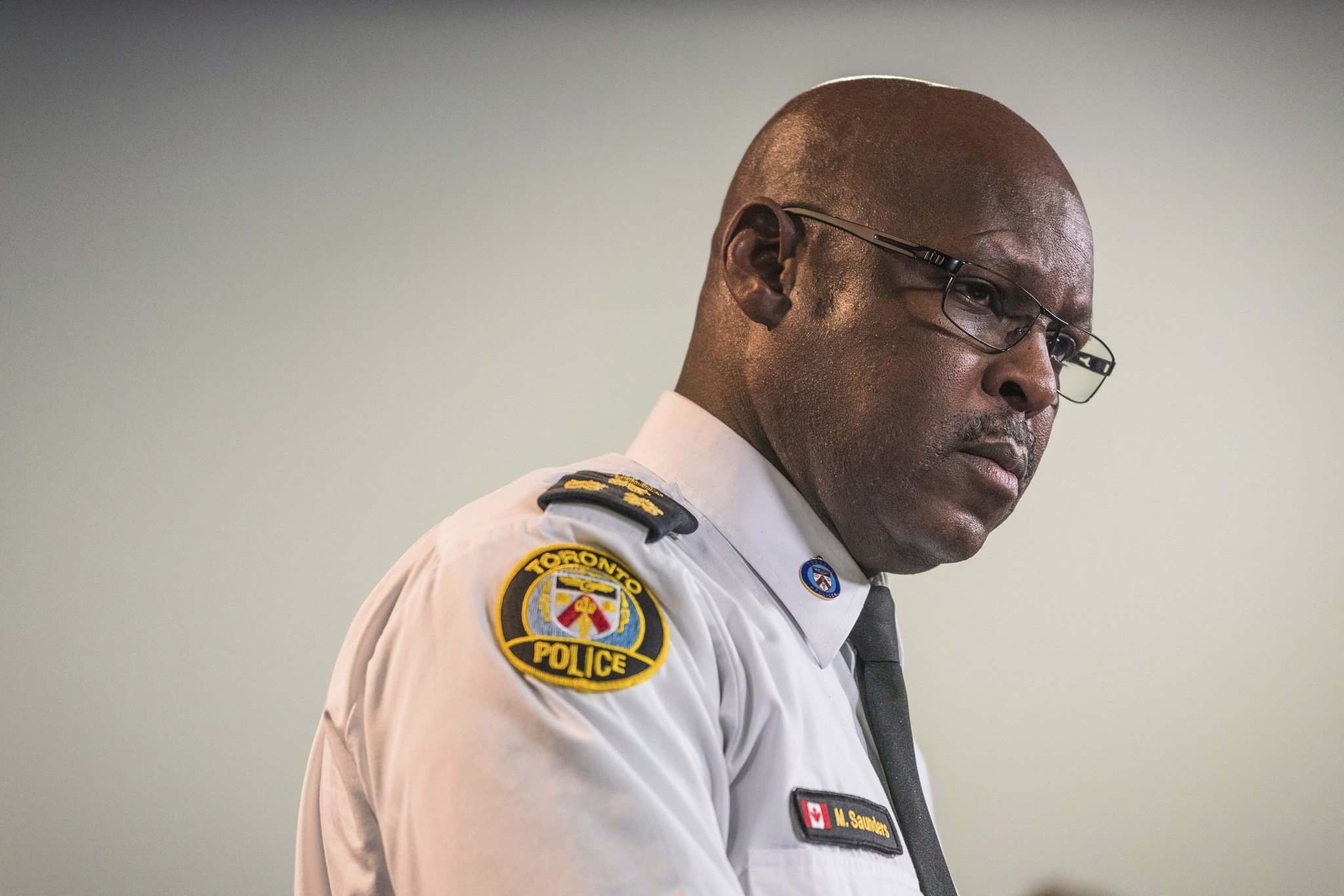 Aaron Vincent Elkaim / Canadian Press files</p><p>Toronto Police Chief Mark Saunders received a kidney transplant last month.</p>