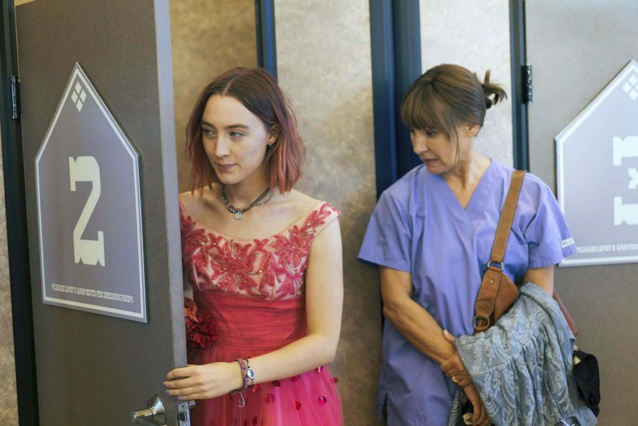 Merie Wallace / A24</p><p>Saoirse Ronan (left) and Laurie Metcalf showcase a complicated mother-daughter dynamic in Lady Bird.</p></p>