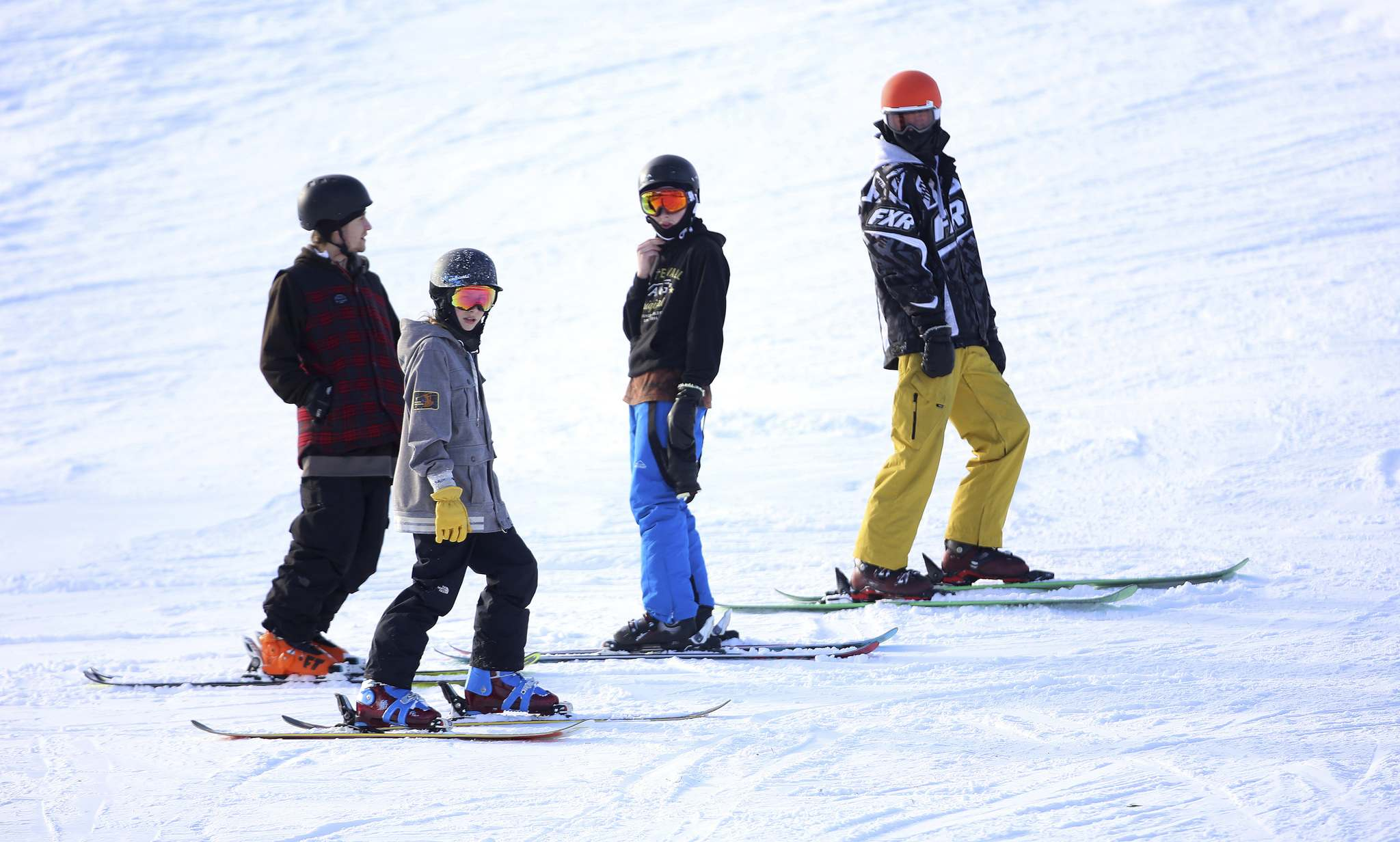 TREVOR HAGAN / WINNIPEG FREE PRESS</p><p>The early season opener allows skiers to get a jump on honing their skills.</p>
