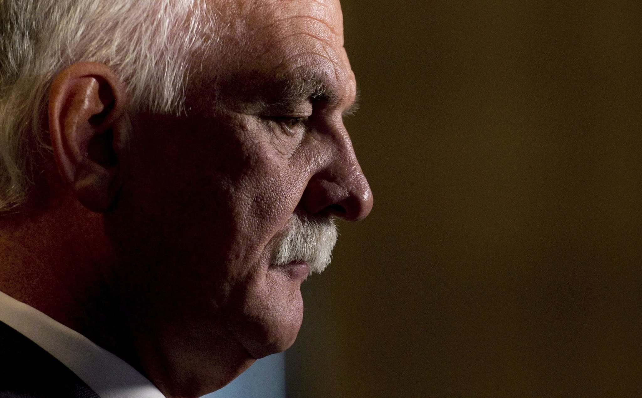 Former Public Safety Minister Vic Toews withdrew his court challenge of a ruling by federal conflict of interest and ethics commissioner. (Adrian Wyld / The Canadian Press files)</p>