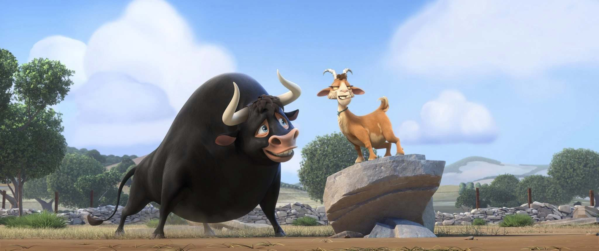20TH CENTURY FOX PHOTOS</p><p>John Cena voices Ferdinand (left) and Kate McKinnon voices Lupe in a modern take on the 1936 children&rsquo;s book The Story of Ferdinand.</p></p>