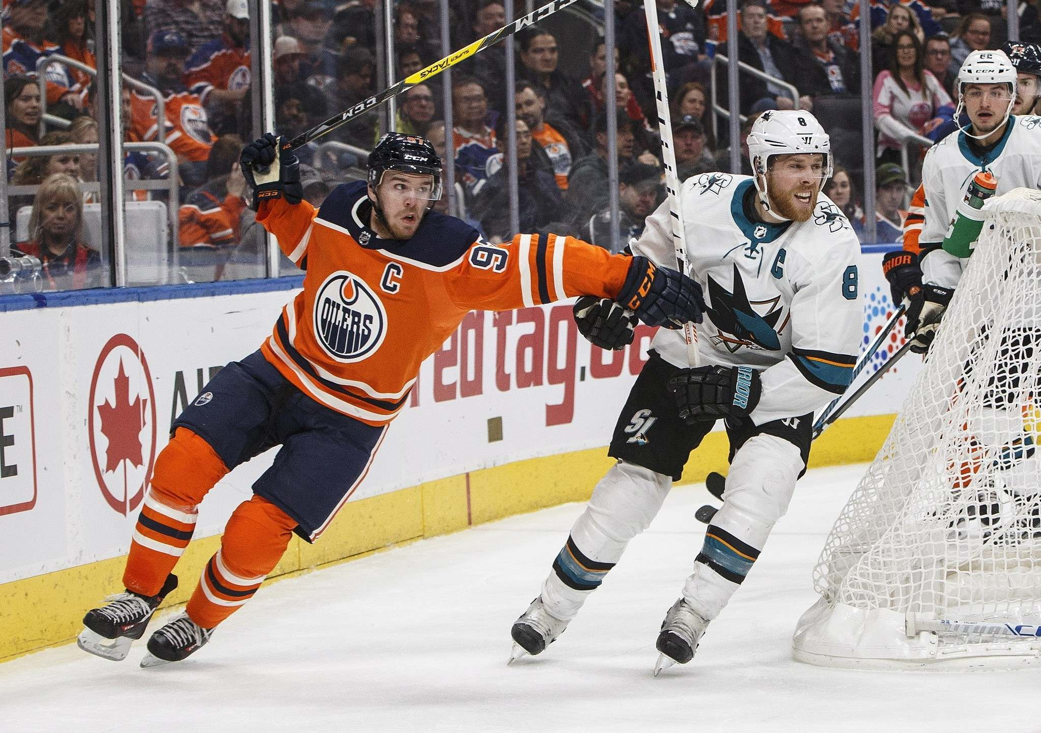 Armia nets 2, Jets top Oilers 4-3 despite Scheifele's injury