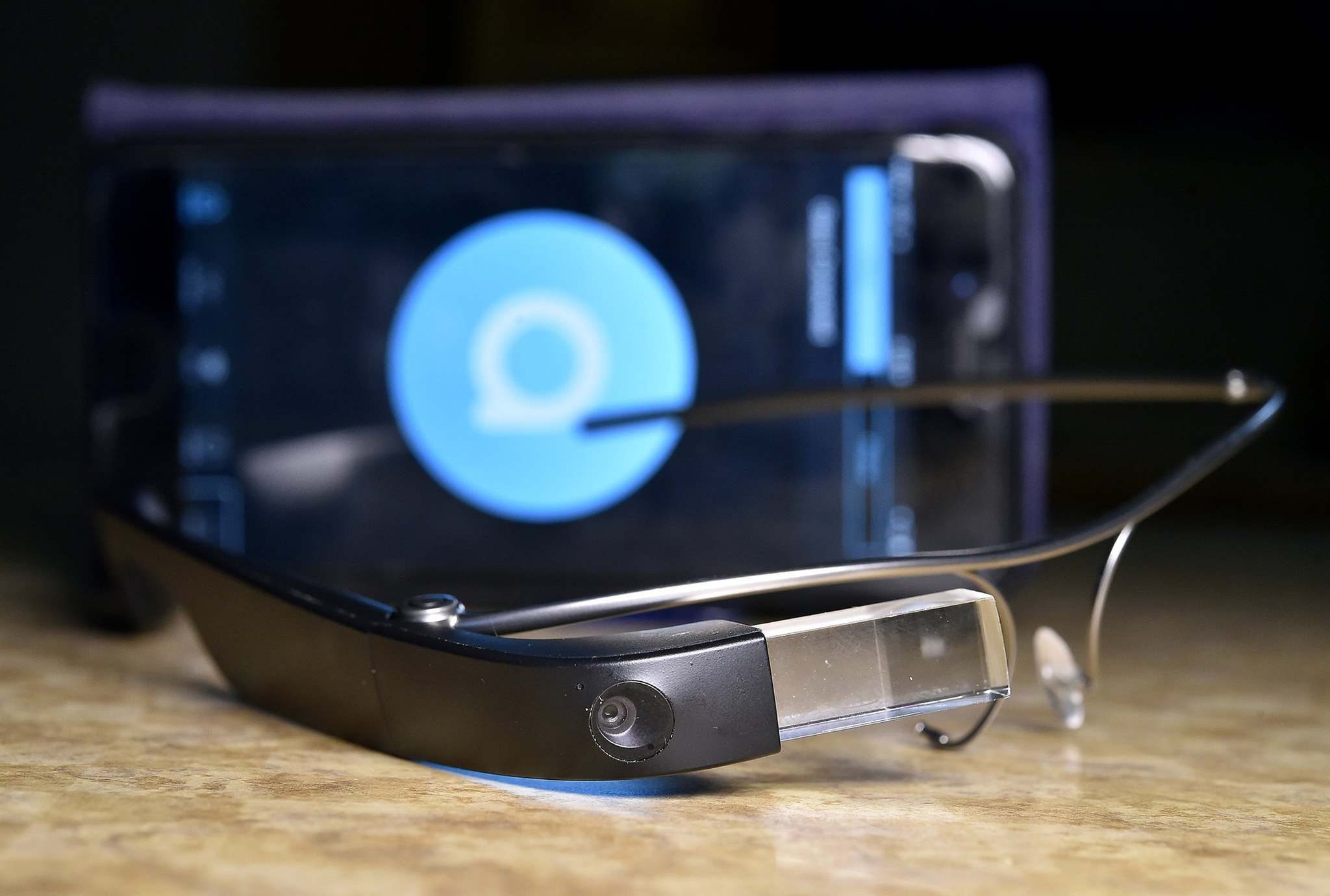 Jill Toyoshiba / Kansas City Star Files</p><p>A new version Google Glass could augment shoppers&#39; reality when browsing in brick-and-mortar stores.</p>