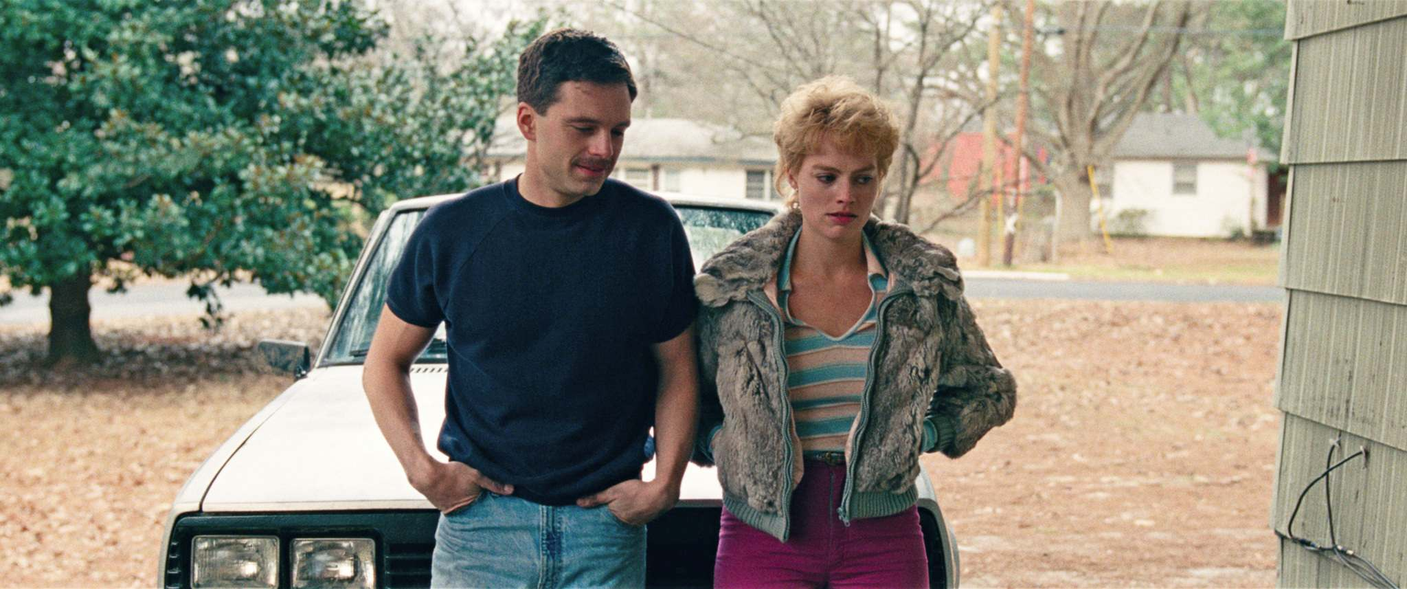 Sebastian Stan (left) plays Jeff Gillooly opposite producer Margot Robbie&rsquo;s portrayal of Tonya Harding in I, Tonya, which opens Jan. 5 in Winnipeg.</p>