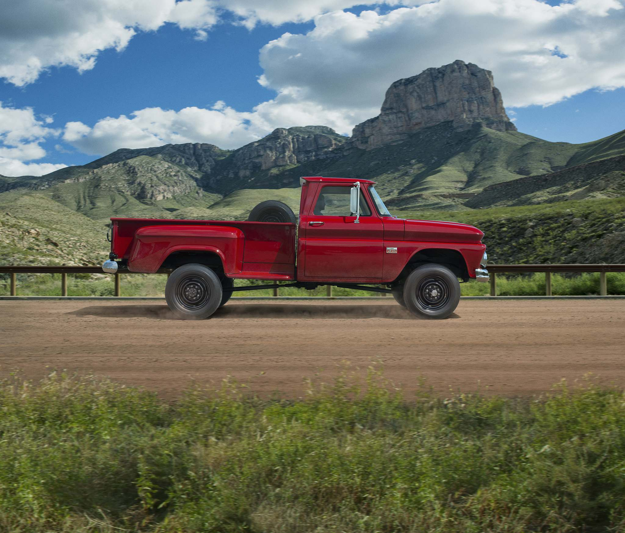 "1960-1966 ""First Generation C/K"": The first generation of Chevy C/K trucks becomes the go-to pickup for work and recreational activities. In 1965, nearly half of all Chevy trucks sold since 1918 are still on the road."
