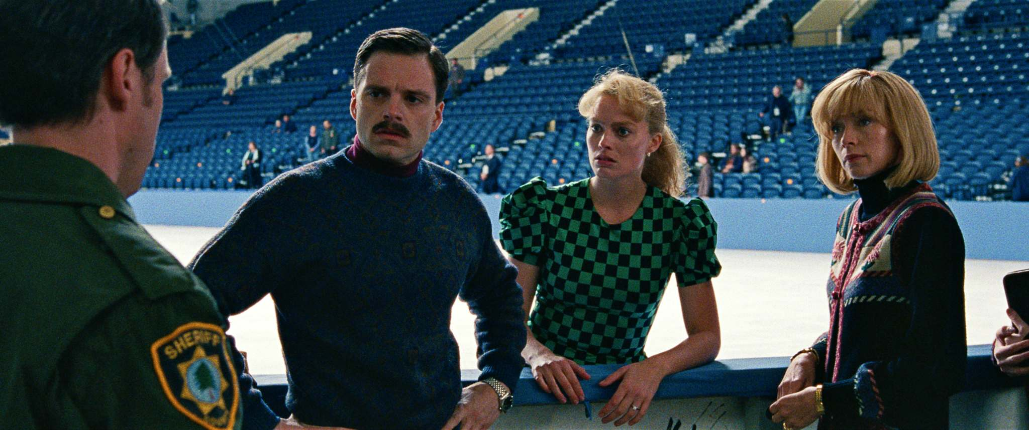 Neon</p><p>From left: Sebastian Stan as Jeff Gillooly, Margot Robbie as Tonya Harding and Julianne Nicholson as Diane Rawlinson in a scene from I, Tonya.</p></p>