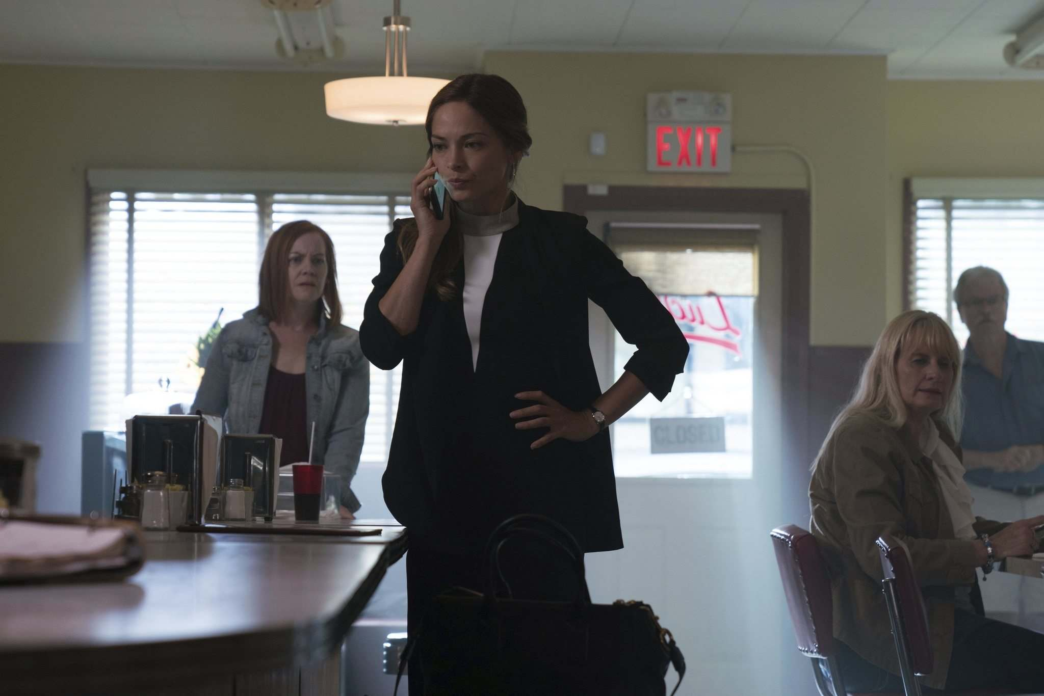 CBC</p><p>Selkirk&rsquo;s Riverside Grill is the backdrop to many scenes in CBC&rsquo;s Burden of Truth, starring Kristin Kreuk as lawyer Joanna Hanley.</p>