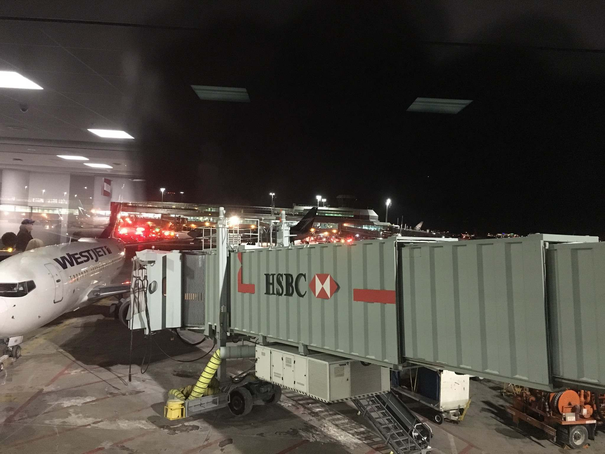 'Sheer chaos' as planes collide at Pearson airport