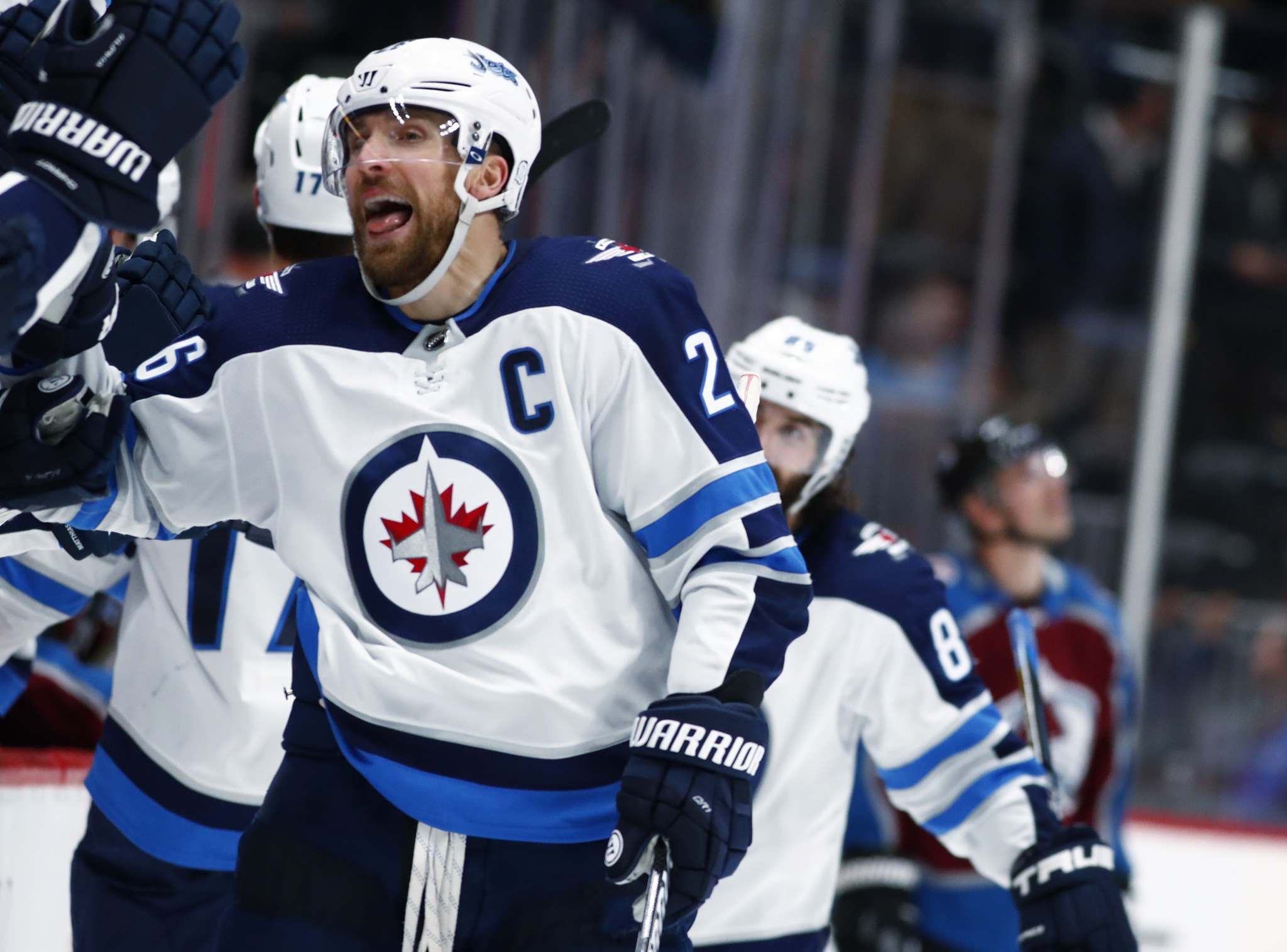 Capt. Wheeler Front And Centre On Top Line In Scheifele's Absence