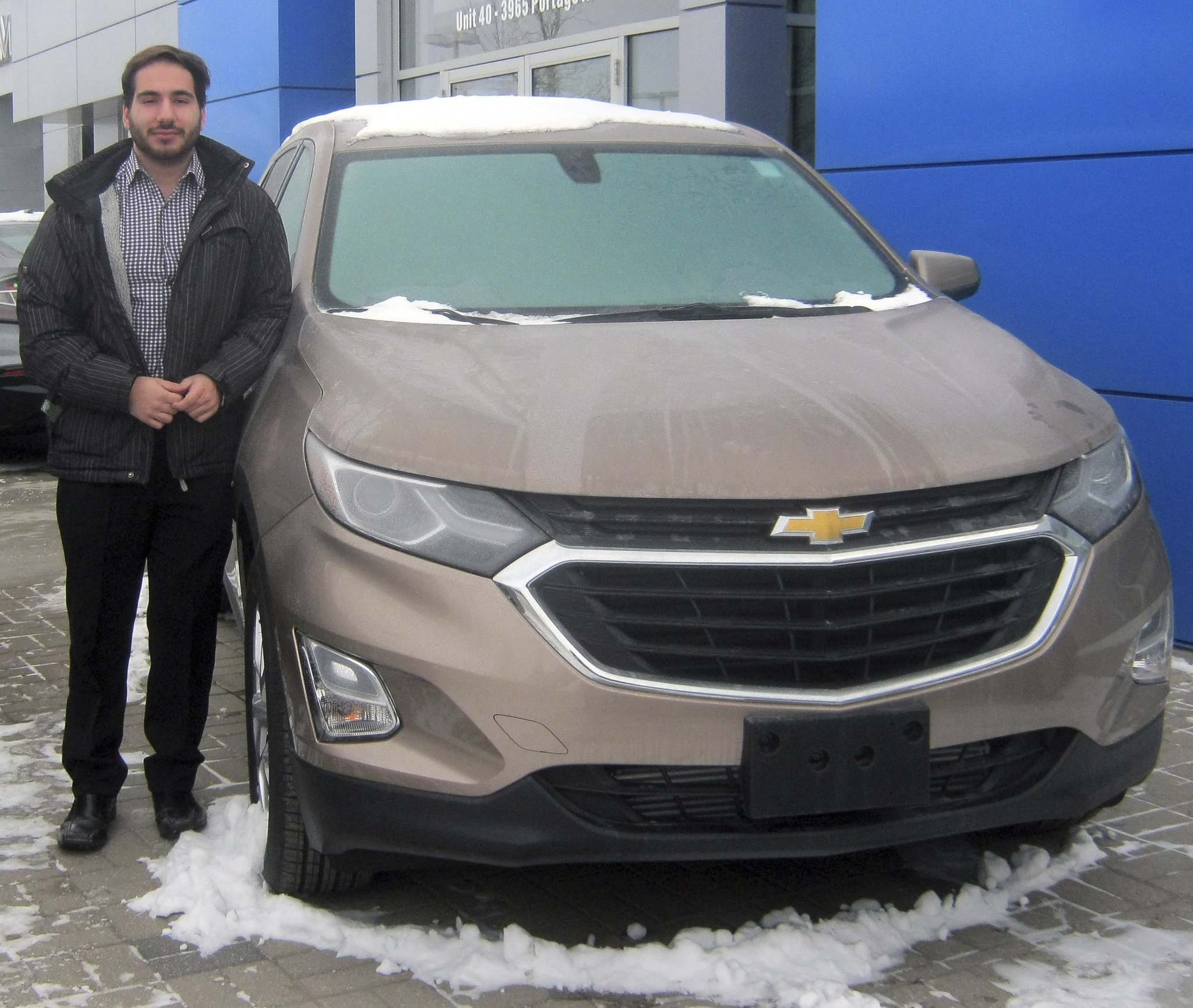 Myron Love / Winnipeg Free PressMatthew Russo of Birchwood Chevrolet Buick GMC