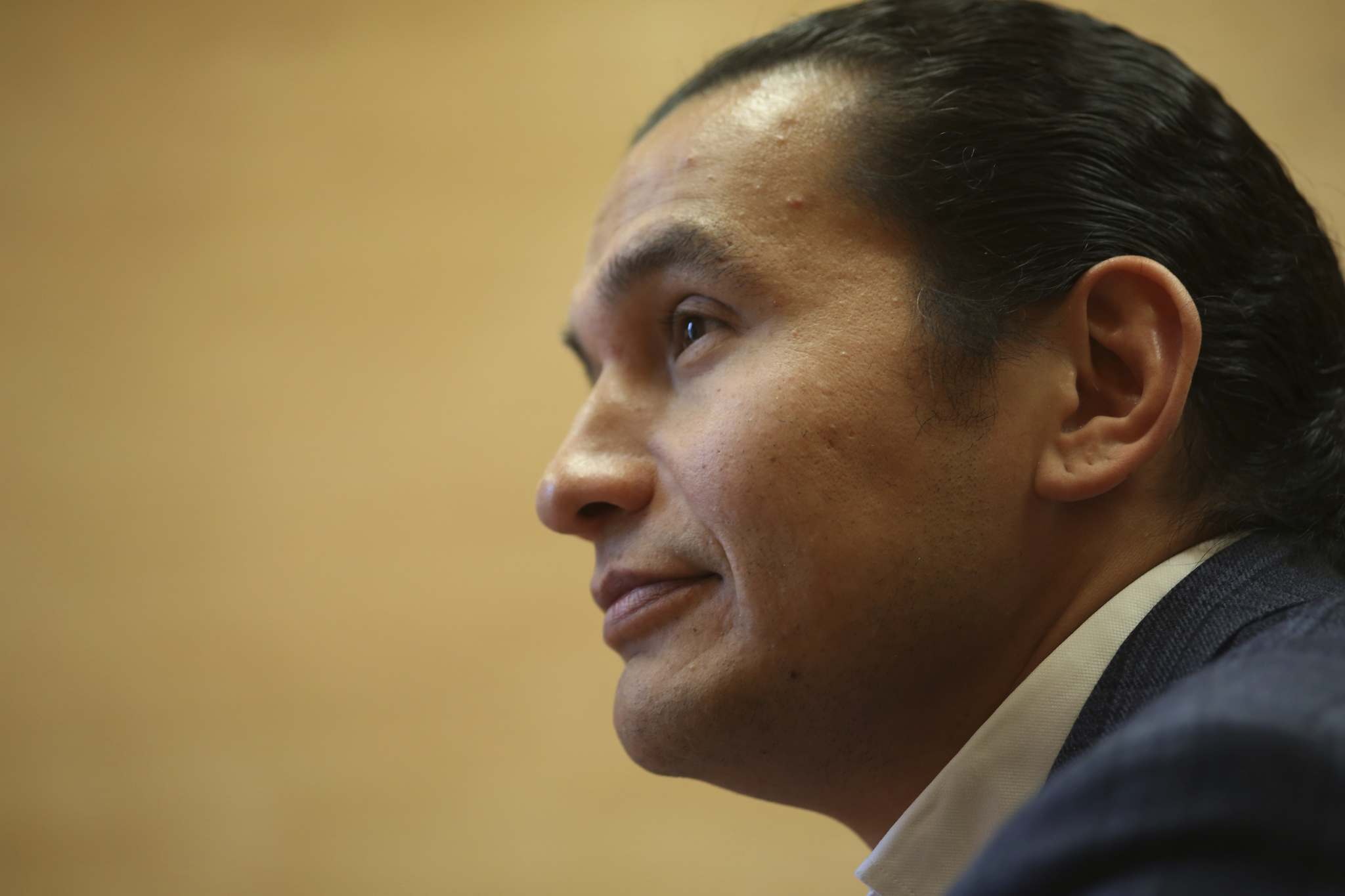 Matt Goerzen/The Brandon Sun Files</p><p>NDP Leader Wab Kinew listed dealing with methamphetamine addictions near the top of his wish list for the provincial budget.</p>