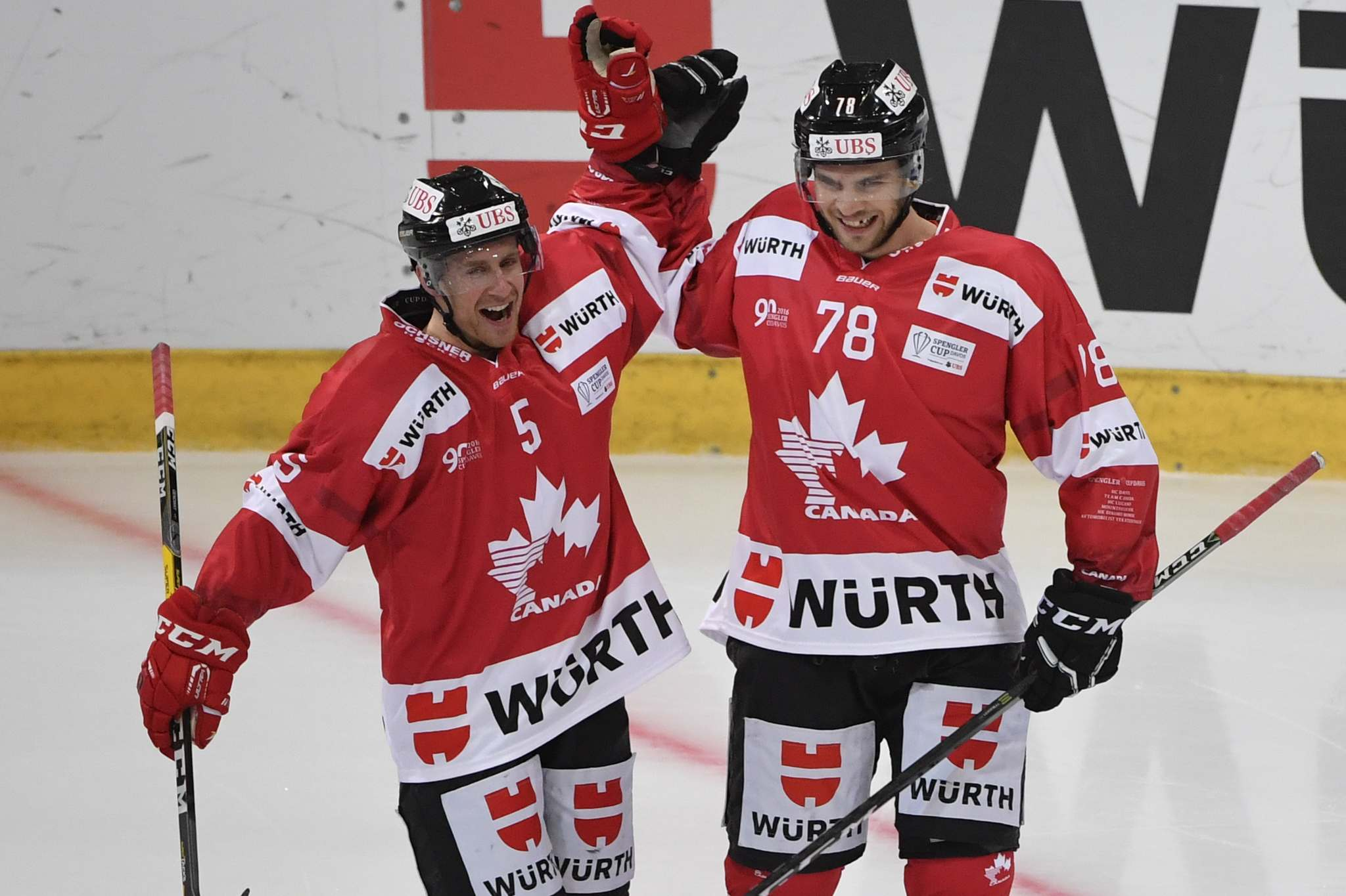 Canada's Olympic men's hockey team unveiled