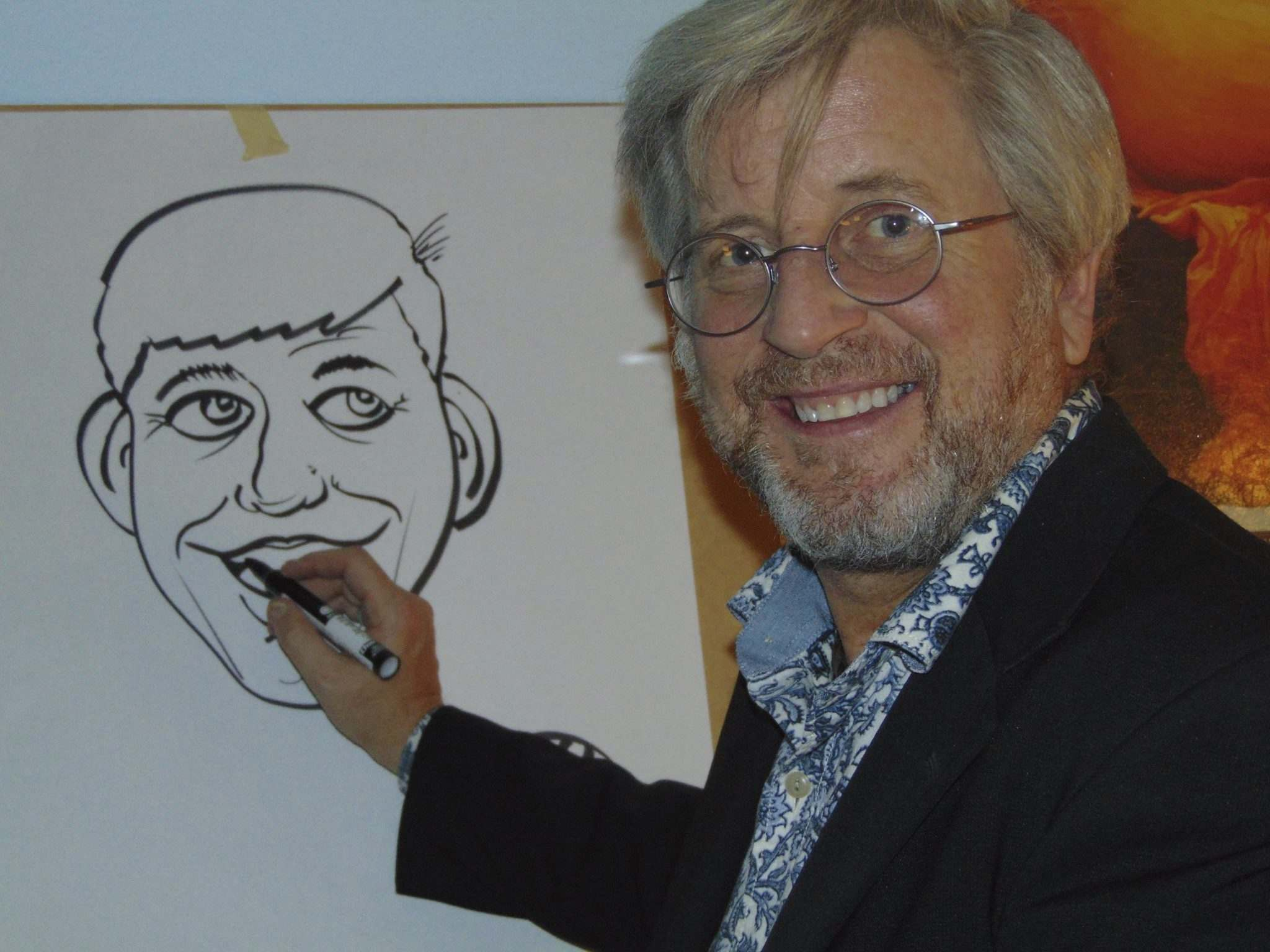 Supplied</p><p>Jon Ljungberg is holding his first cartoon and caricature workshops at Artists Emporium.</p>