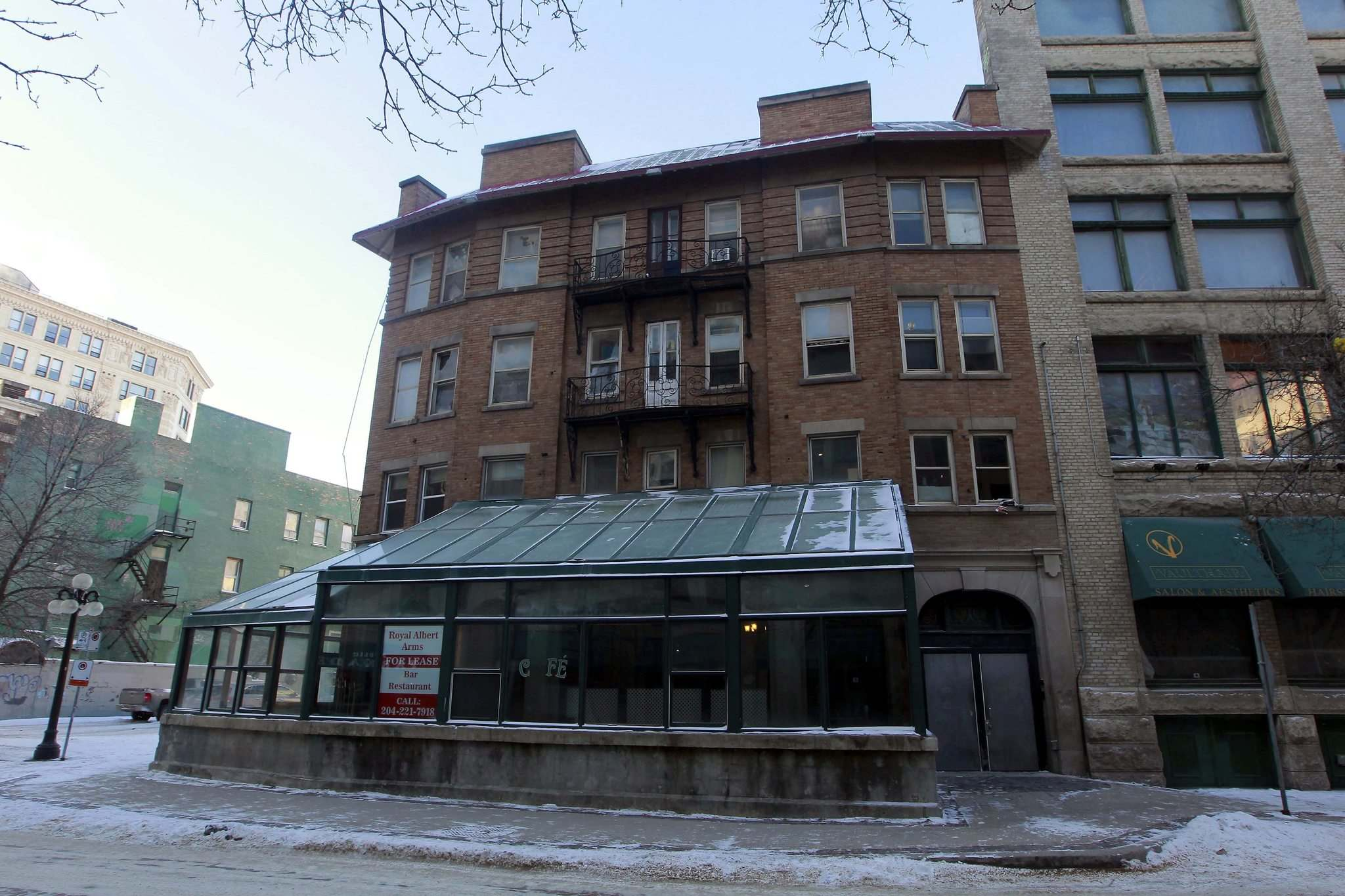 BORIS MINKEVICH / WINNIPEG FREE PRESS</p><p>The Royal Albert Arms Hotel is a heritage property that was once one of Winnipeg&#39;s most notable music venues, but fell on hard times over the past decade because of turbulent previous ownership.</p></p>