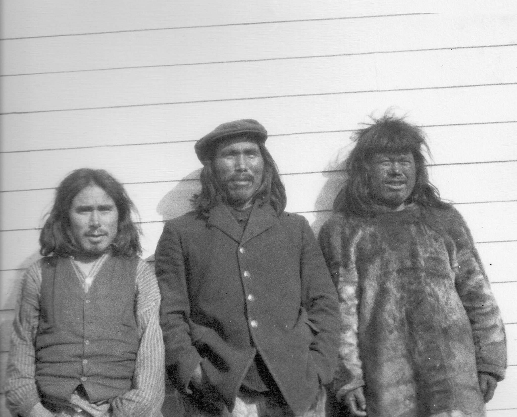 <p>The three accused men (from left) Aatitaaq, Nuqallaq and Ululijarnaaq.</p></p>