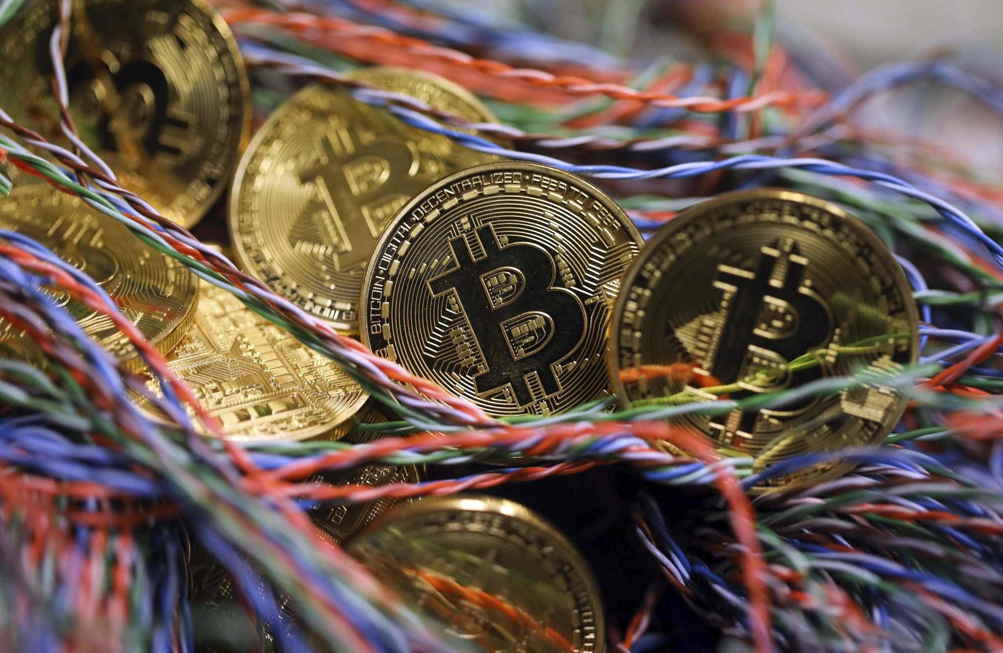 Chris Ratcliffe / Bloomberg files</p><p>Bitcoin's backers say it's the future, but the way the cryptocurrency operates is actually more like digitized nostalgia for what real money used to be.</p>