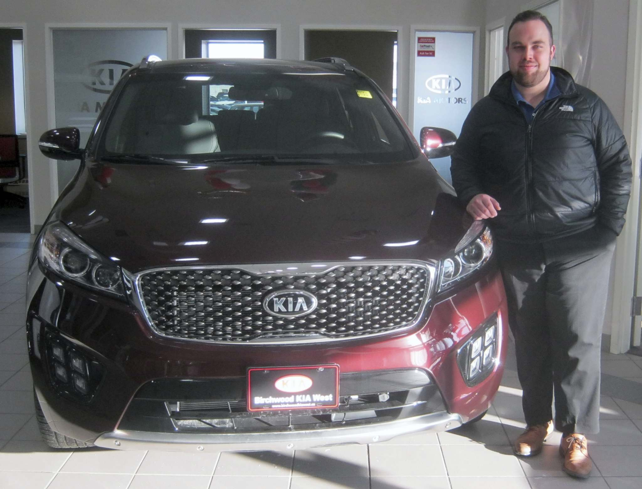 Myron Love / Winnipeg Free PressMichael Downs of Birchwood Kia West.