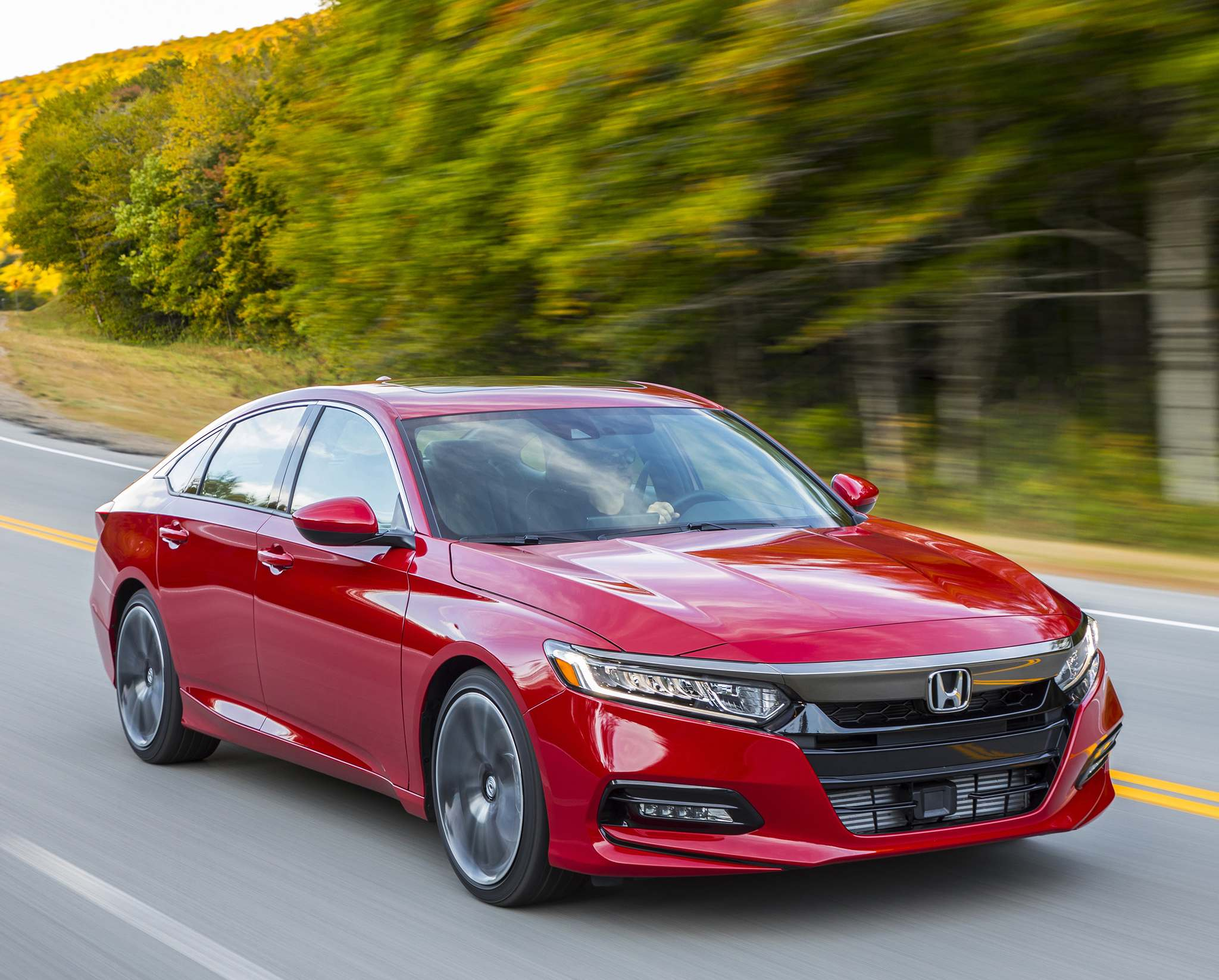 SuppliedThe new-look 2018 Honda Accord offers more rear legroom and more storage space.