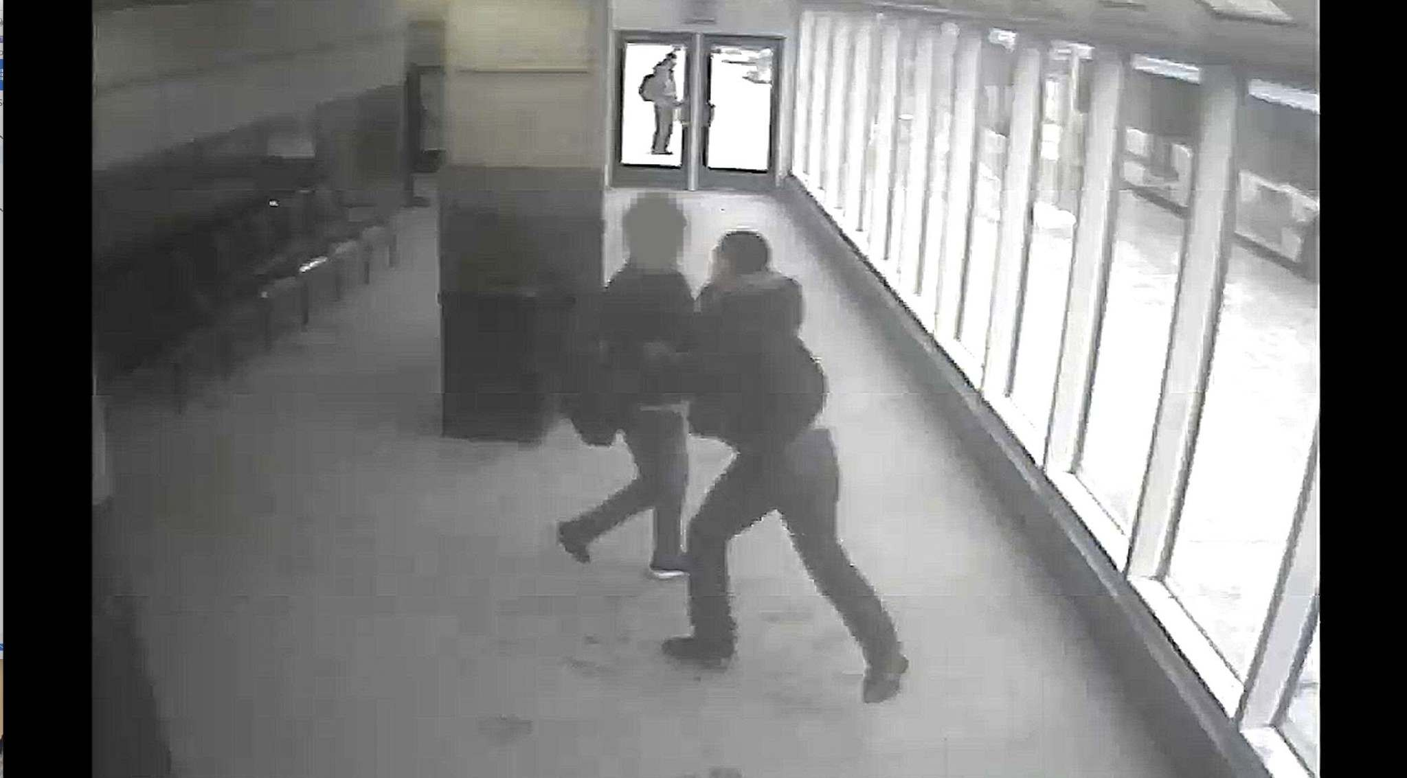 HANDOUT / POLICE</p><p>A teen victim was attacked and robbed at Portage Place on Jan. 23.</p>