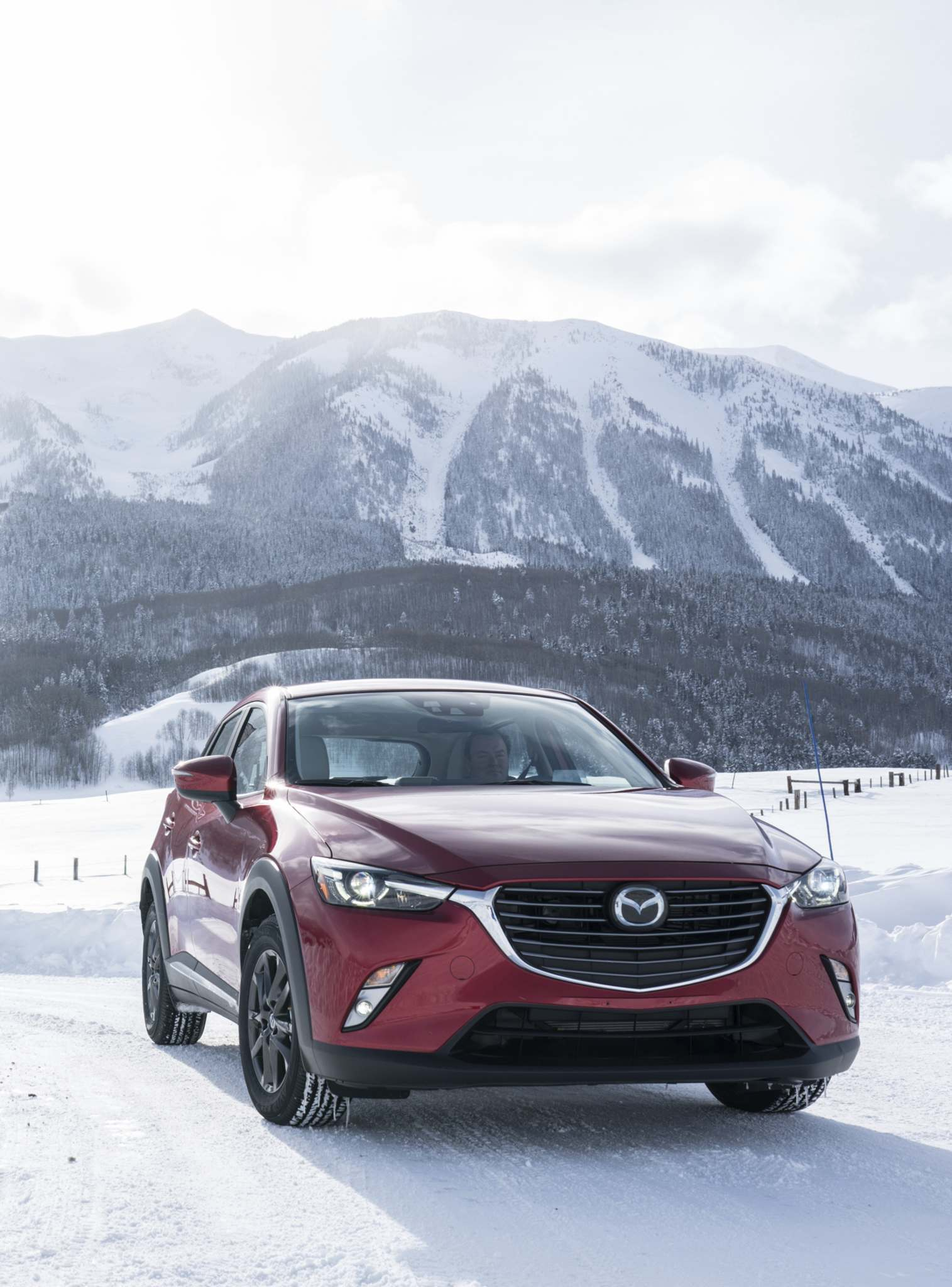 MazdaAll CX-3 models pack a 2.0-litre four-cylinder that generates 146 horsepower and 146 pound-feet of torque.