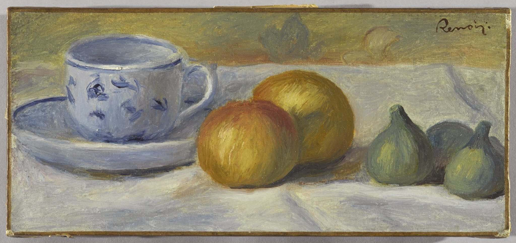BROOKLYN MUSEUM</p><p>Still Life with Blue Cup, by Pierre-August Renoir from 1900, one of the roughly 100 pieces of Impressionist-era art that will be on display at the Winnipeg Art Gallery starting in June.</p>