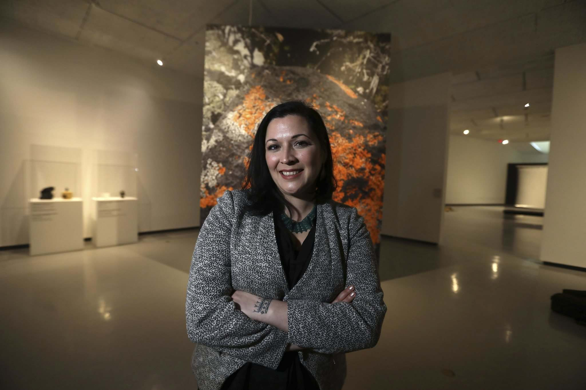 RUTH BONNEVILLE / WINNIPEG FREE PRESS</p><p>Dr. Heather Igloliorte is the lead curator for the inaugural exhibitions at the Inuit Art Centre, set to open in 2020.</p>