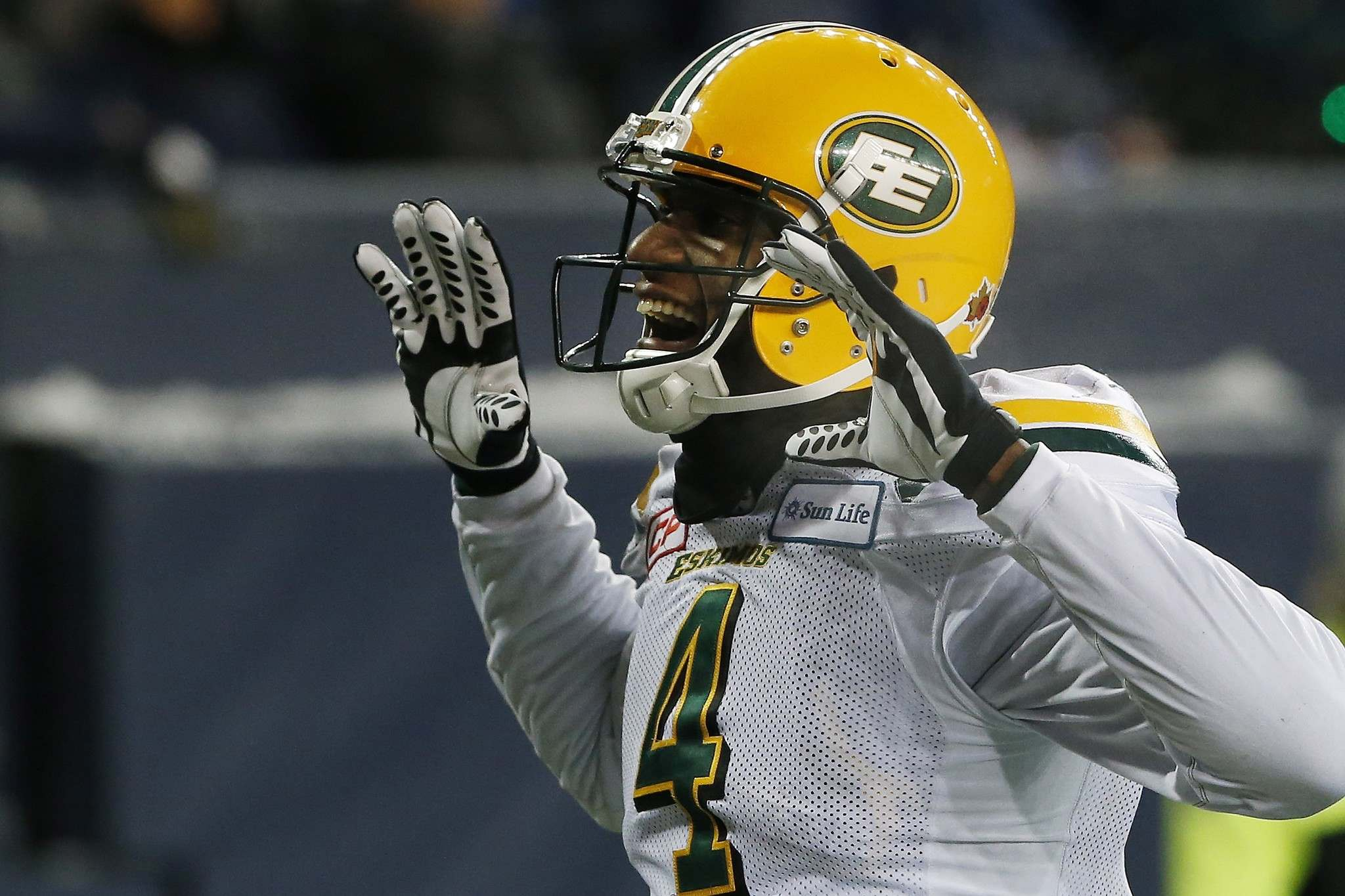 John Woods / THE CANADIAN PRESS FILES</p><p>The Winnipeg Blue Bombers signed free agent Adarius Bowman to a one-year contract Friday; the current and former Bomber spent seven years with the Edmonton Eskimos. </p>