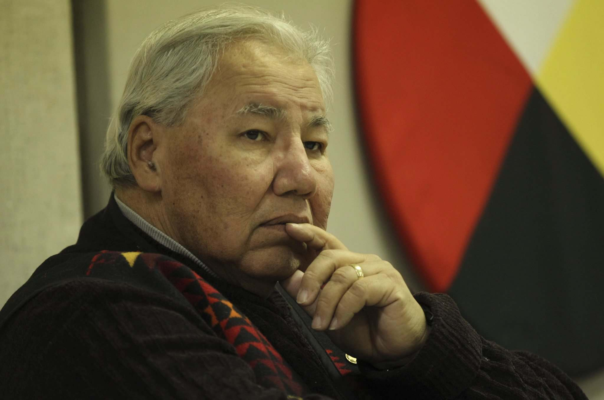 RUTH BONNEVILLE / WINNIPEG FREE PRESS</p><p>Sen. Murray Sinclair, in Winnipeg Monday to unveil plans for a healing forest in St. John&rsquo;s Park, says reforms to Canada&rsquo;s justice system are needed. </p>