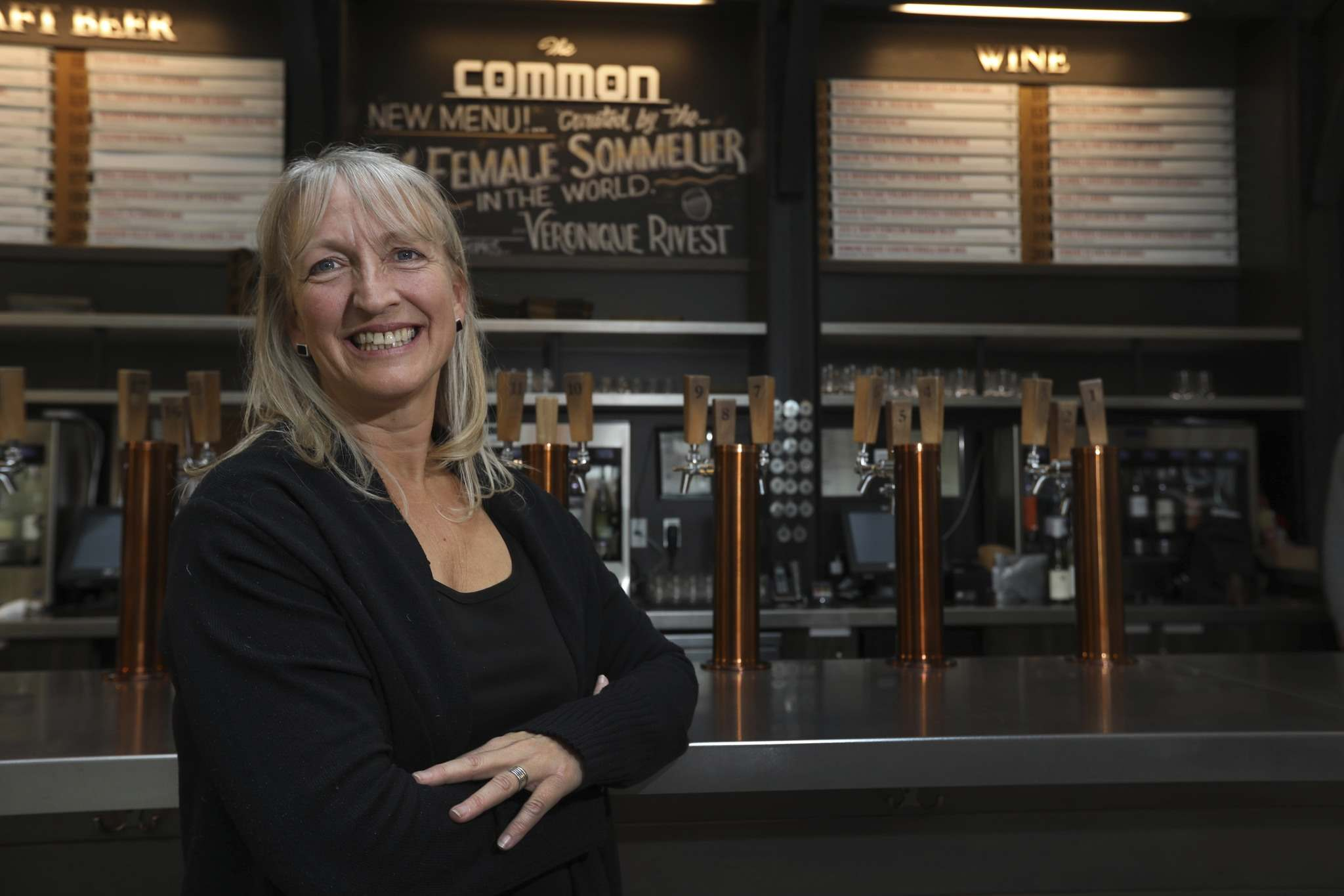 RUTH BONNEVILLE / WINNIPEG FREE PRESS</p><p>The Common's Véronique Rivest became one of the top sommelier's in the world while operating the Soif bar à vin in Gatineau, Que.</p>