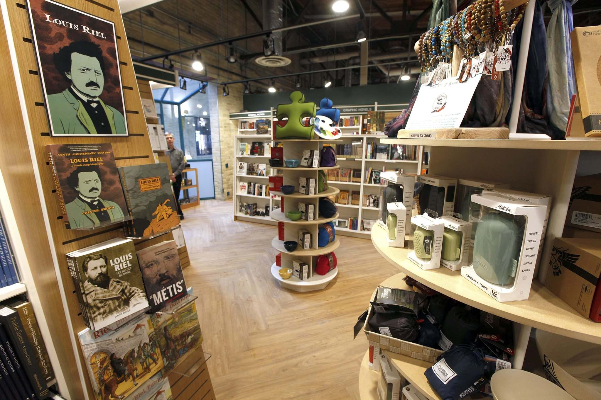 PHIL HOSSACK / WINNIPEG FREE PRESS</p><p>The Forks location of McNally Robinson will provide a selection of offerings from the main store and will pay particular attention to Indigenous and local writing, as well as books for children.</p>