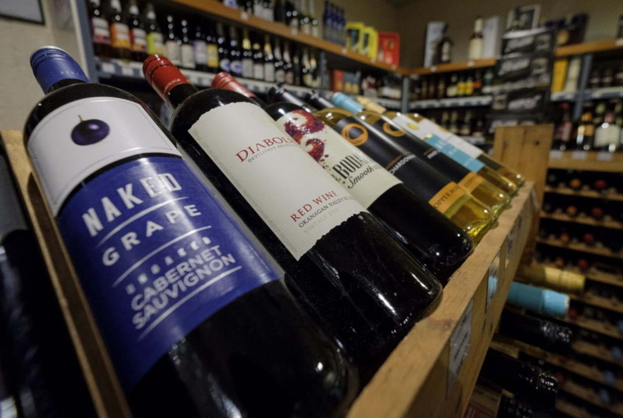 Jeff McIntosh / THE CANADIAN PRESS FILES</p><p>B.C. wine can be sold again in Alberta after Premier Rachel Notley rescinded a ban.</p>