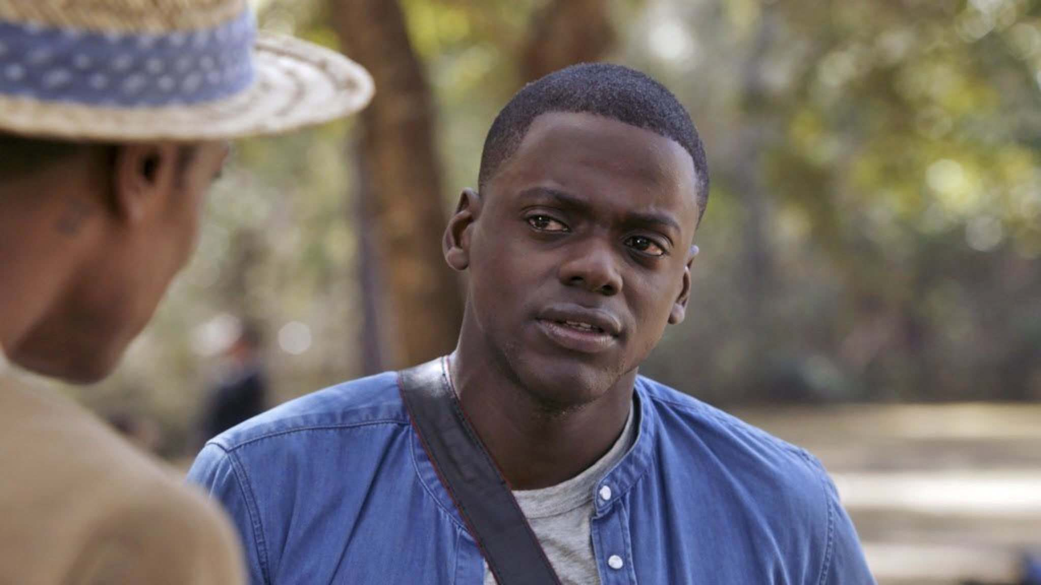 Lakeith Stanfield (left) and Daniel Kaluuya in Get Out, which would be a refreshing surprise if it won Best Picture. (Universal Pictures)