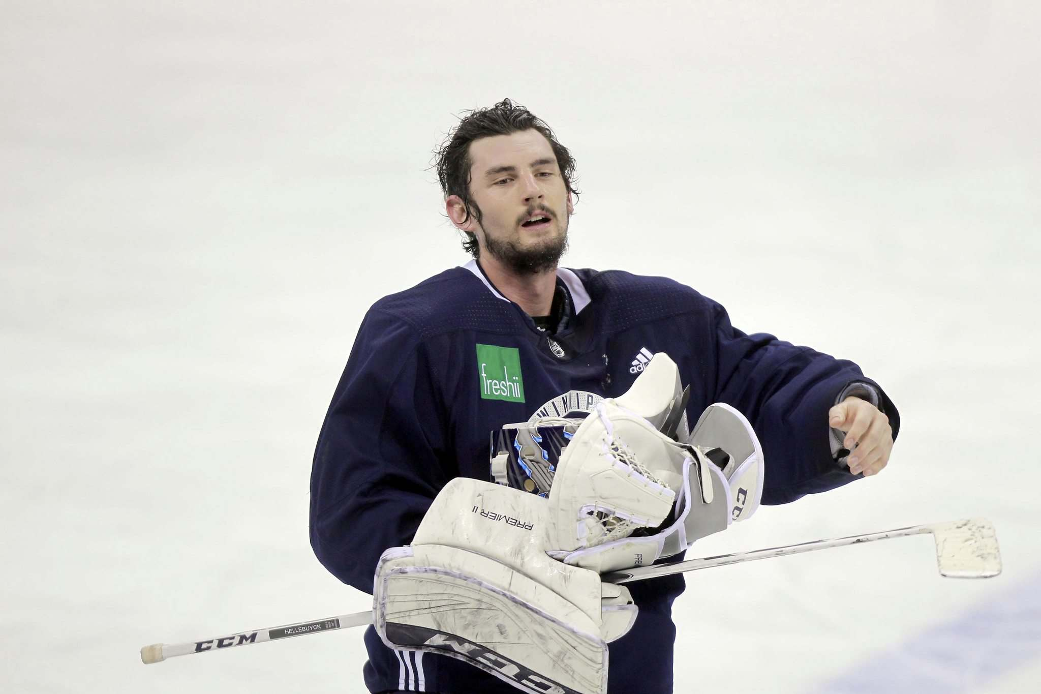 BORIS MINKEVICH / WINNIPEG FREE PRESS FILES</p><p>Winnipeg Jets goalie Connor Hellebuyck.</p>