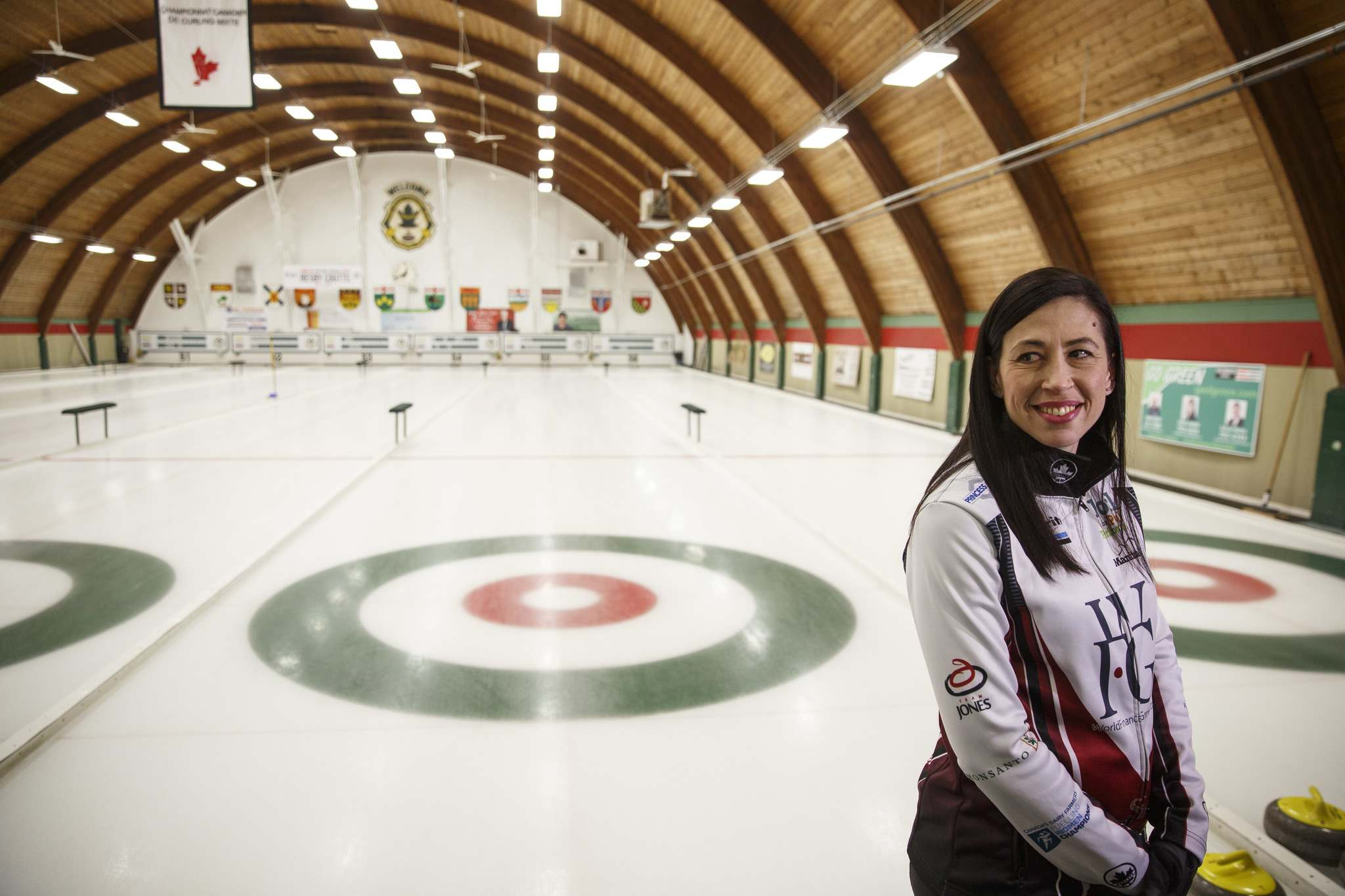 MIKE DEAL / WINNIPEG FREE PRESS</p><p>Longtime second Jill Officer confirms during a practice at the Fort Rouge Curling Club Friday afternoon that she will be taking a step back from competitive curling, beginning next season.</p>