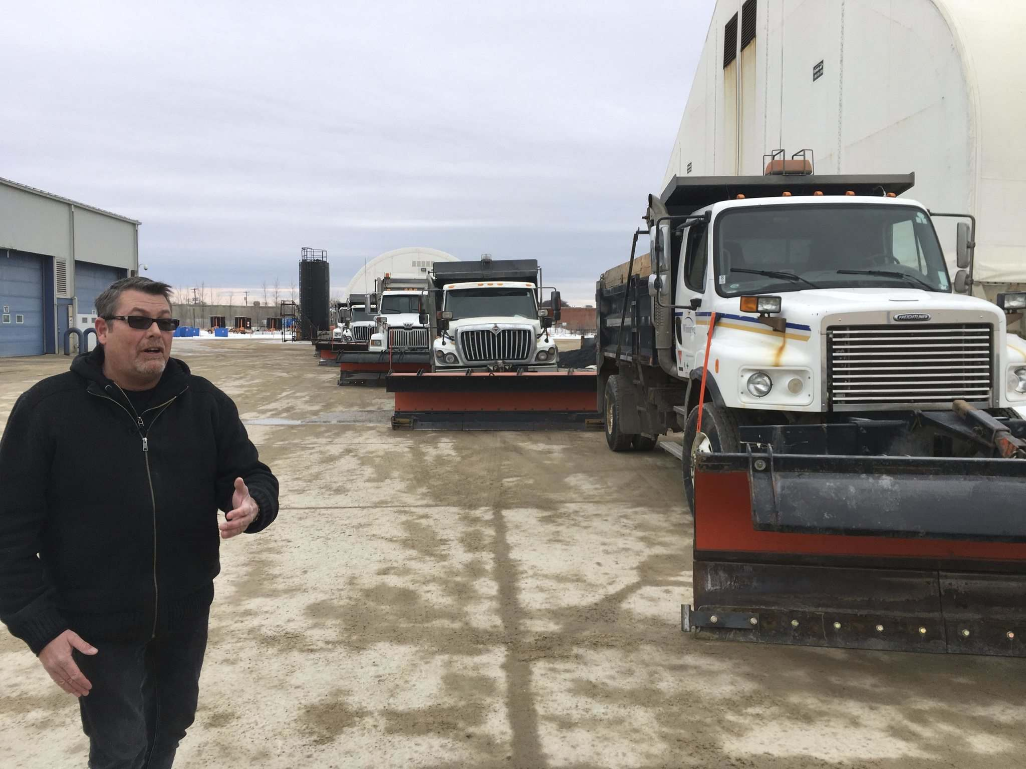 City of Winnipeg public works spokesman Ken Allen says crews are ready to hit the road when the Colorado Low passes through.</p>