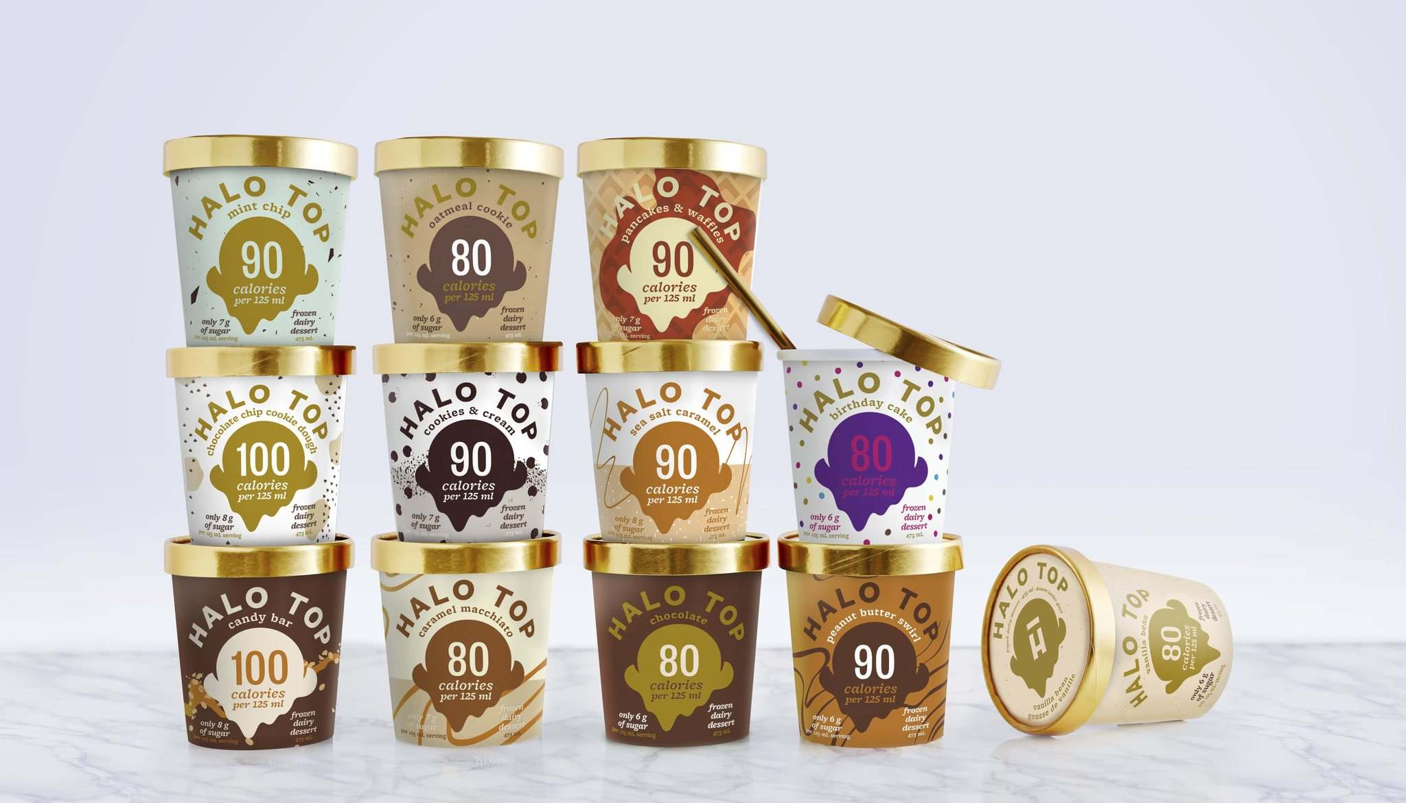 Supplied</p><p>The popular low-calorie, low-sugar, high-protein &#8216;frozen dairy dessert&rsquo; Halo Top has arrived in Canada, with 12 flavours now available in freezer aisles north of the border.</p></p>