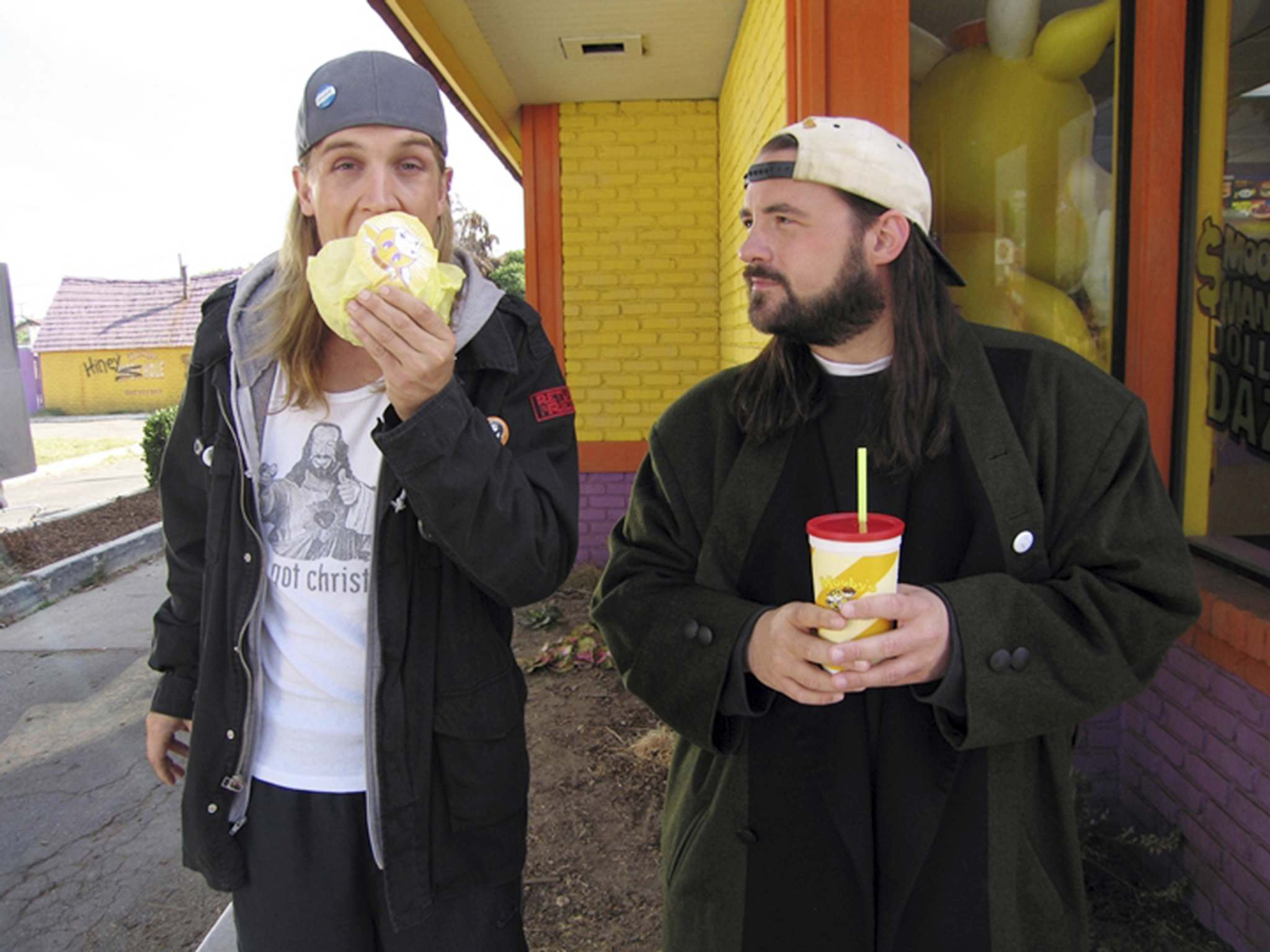 Alliance Atlantis </p><p>Jason Mewes (left) and Kevin Smith have played Jay and Silent Bob in several movies. </p></p>