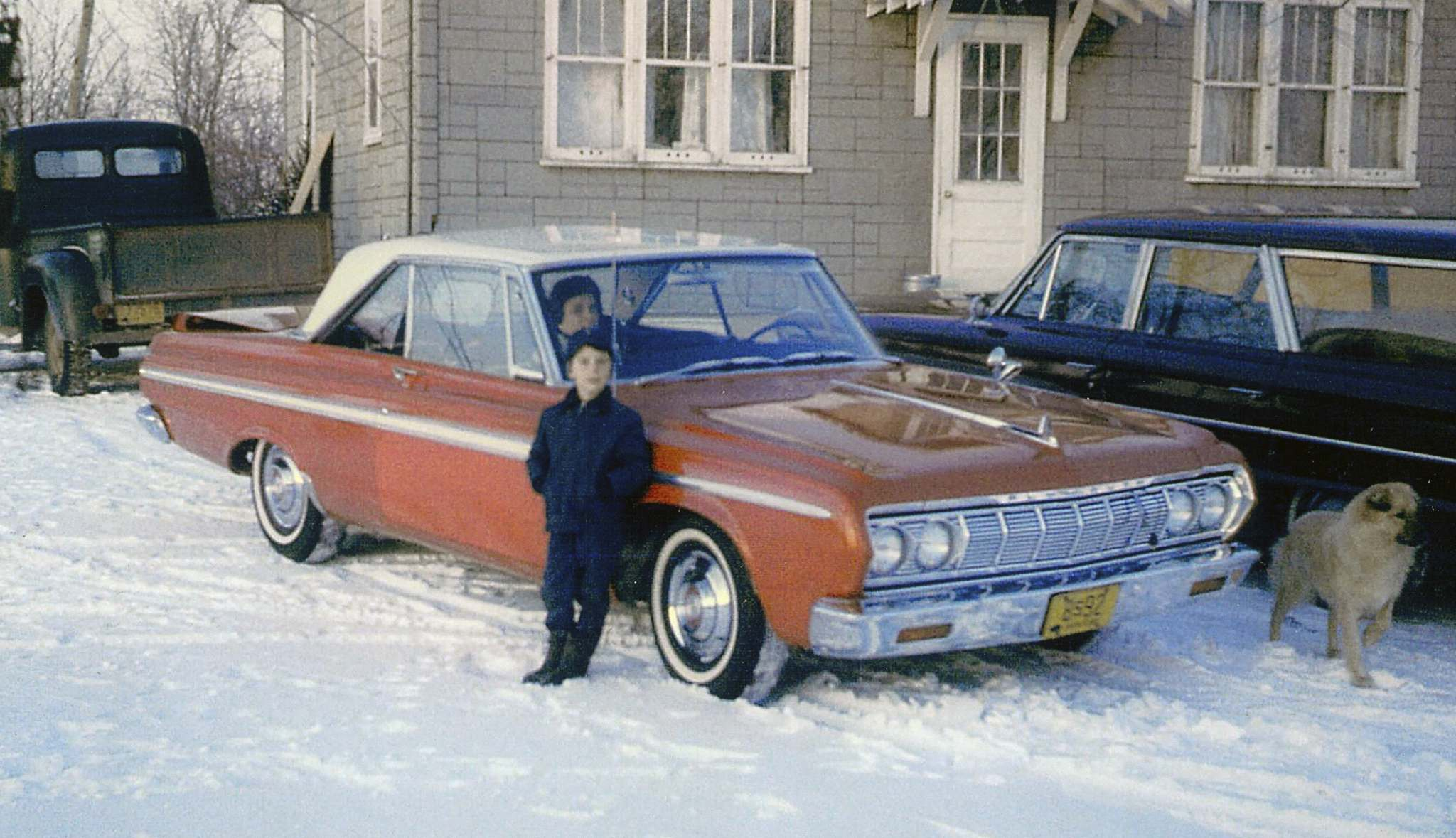 SuppliedDale Altstadt poses with the family car in 1965, well before he transformed it into a quarter-mile hustler.