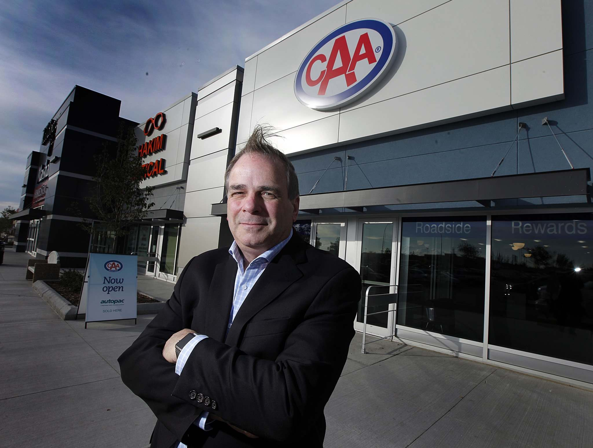 PHIL HOSSACK / WINNIPEG FREE PRESS FILES</p><p>Mike Mager CEO of CAA Manitoba feels the province&#39;s new distracted driving laws aren&#39;t tough enough.</p>