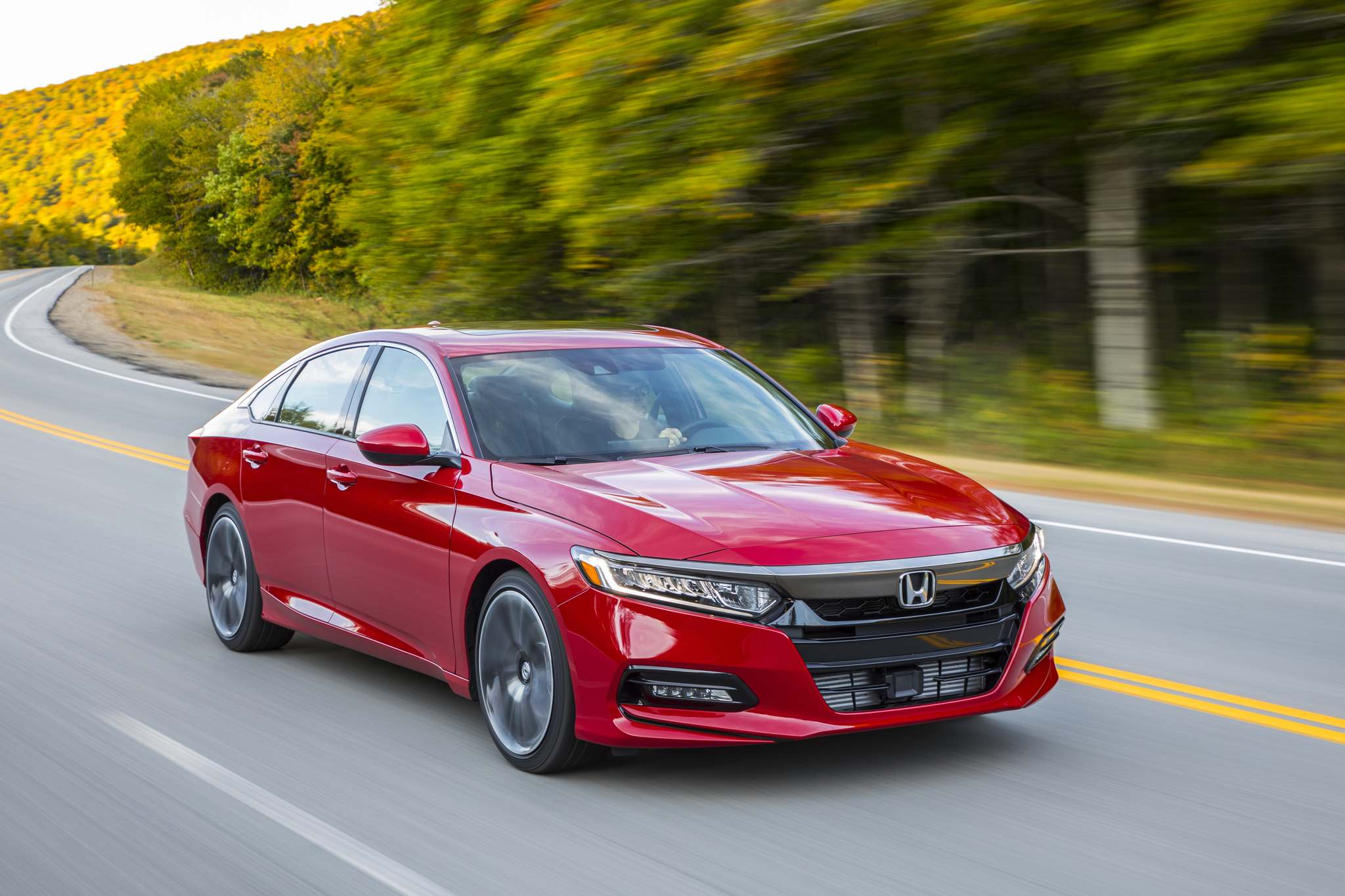HondaThe Accord is second in sales for the Canadian mid-size sedan market, behind the Toyota Camry and ahead of the Nissan Altima.