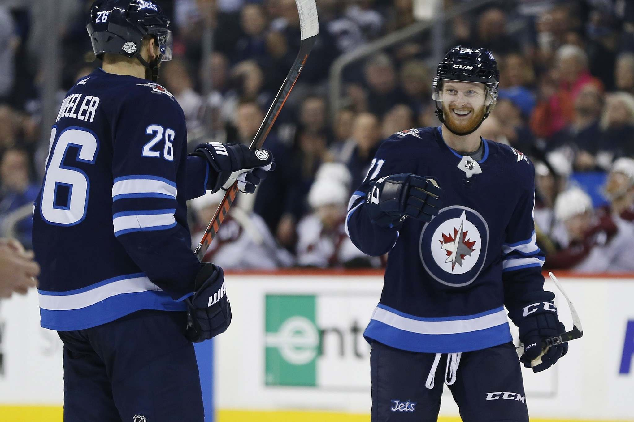 Kyle Connor's 2nd-straight OT victor lifts Jets over Ducks