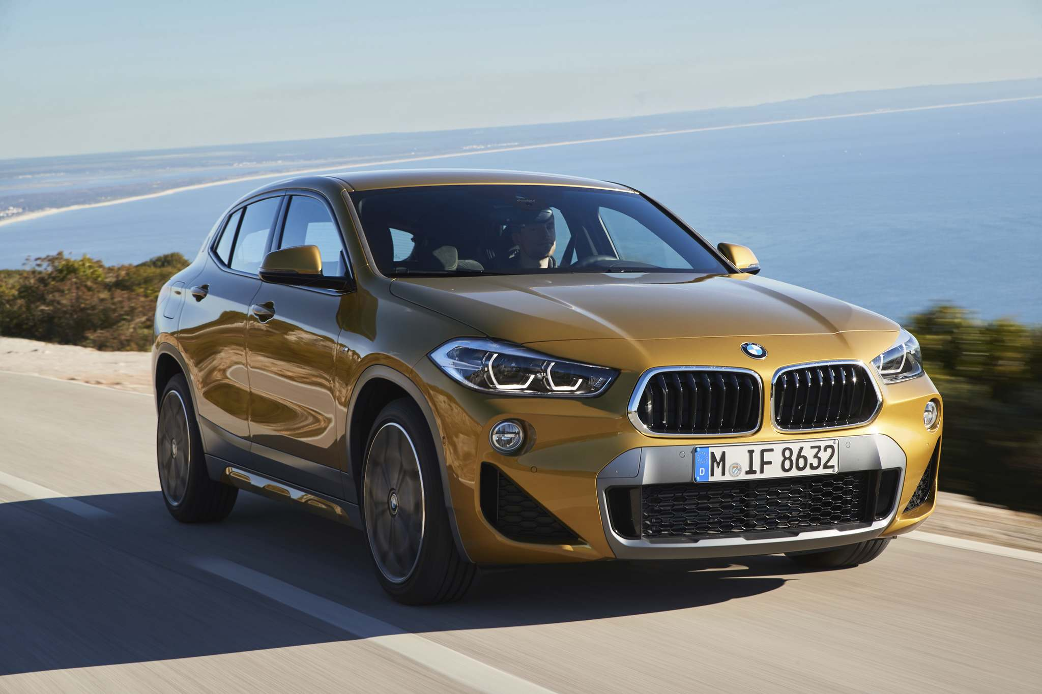 BMW The new 2018 BMW X2. blends new technology with throwback styling.