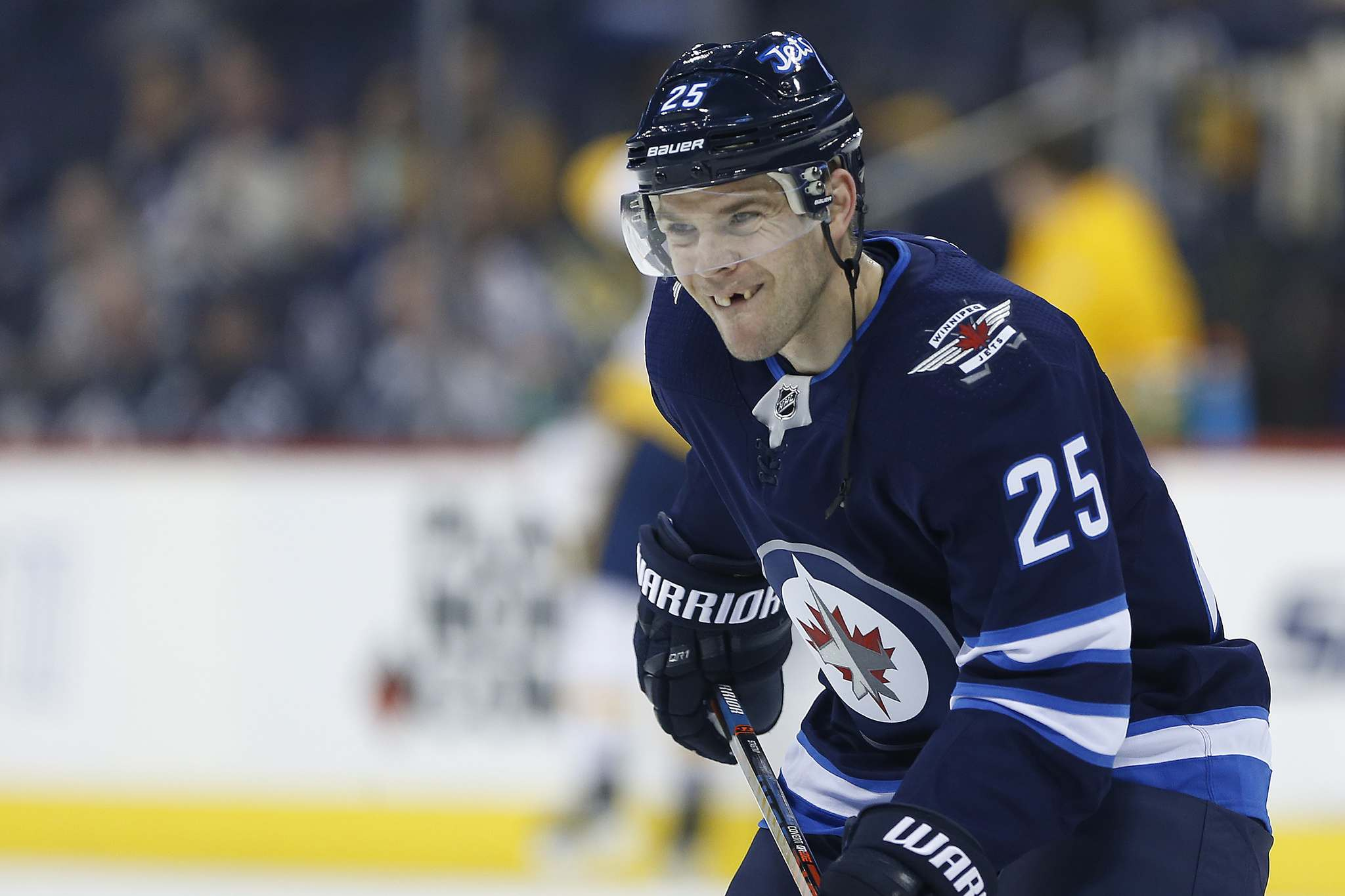 <p>Winnipeg Jets' Paul Stastny has plenty of experience playing the Minnesota Wild in the Stanley Cup Playoffs.</p>
