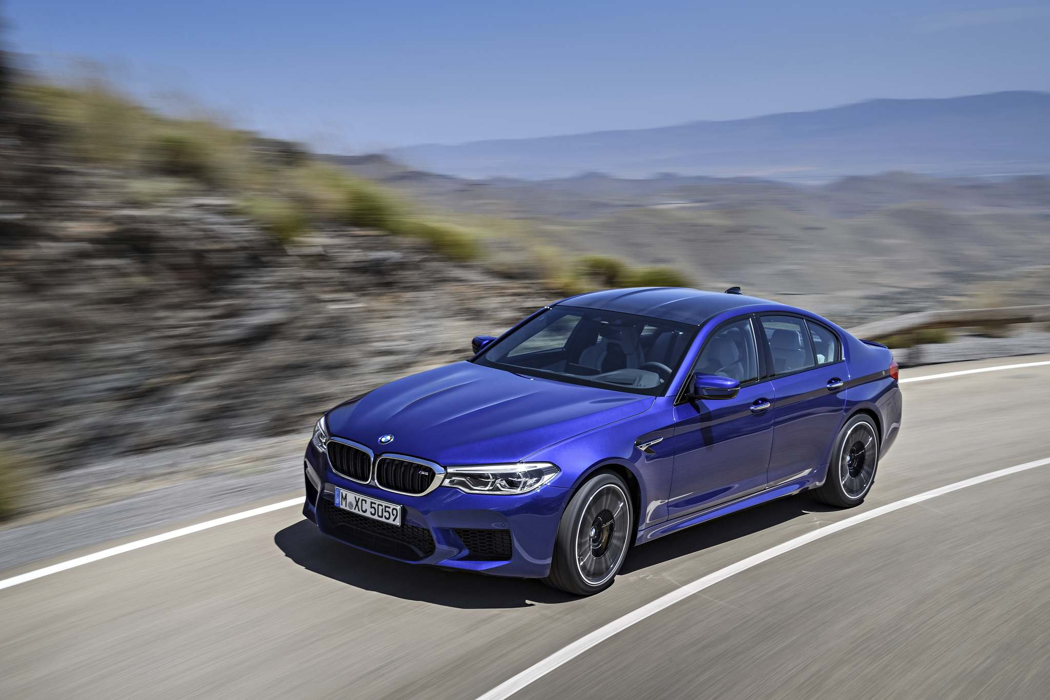 BMWThe 2018 BMW M5 comes available with all-wheel drive. Only four are expected to be for sale this year in Winnipeg.