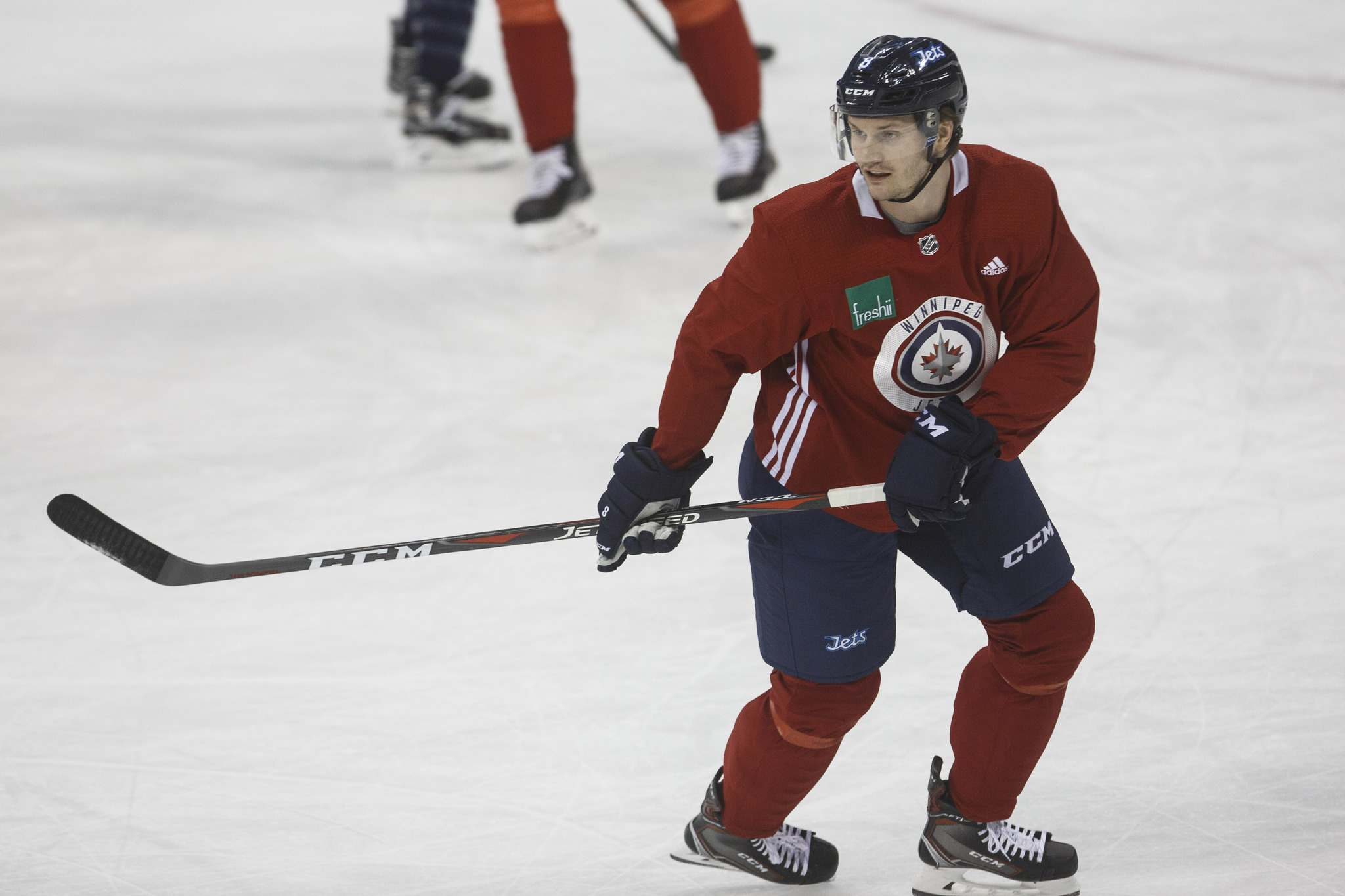 <p>Winnipeg Jets&#39; Jacob Trouba says he is ready to start the playoffs despite having to deal with a nagging ankle injury.</p>