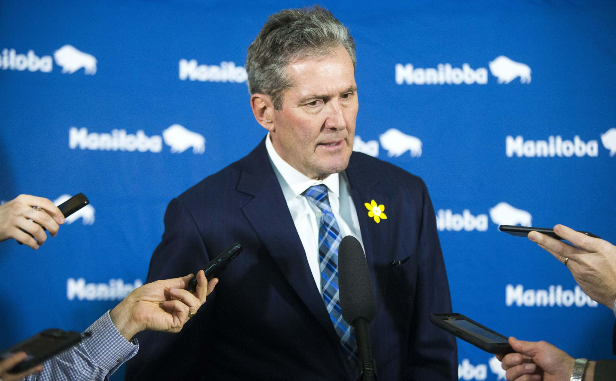 MIKAELA MACKENZIE / WINNIPEG FREE PRESS FILES</p><p>Premier Brian Pallister is threatening to sue the <em>Winnipeg</em> <em>Free Press</em> for its coverage of a story regarding taxation issues with his Costa Rican property.</p>