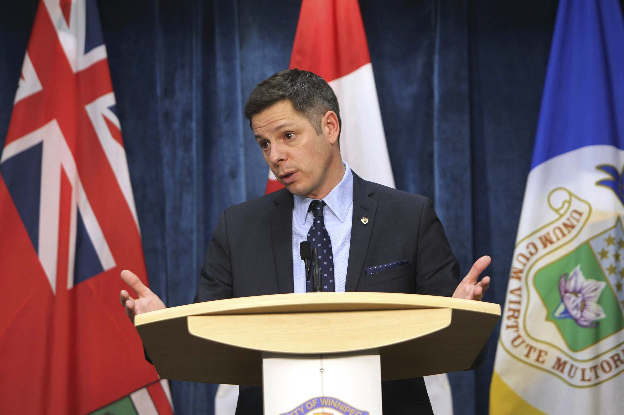 <p>Winnipeg Mayor Brian Bowman won&#39;t release United Fire Fighters of Winnipeg president Alex Forrest&rsquo;s attendance records on city committees. </p> RUTH BONNEVILLE / WINNIPEG FREE PRESS FILES</P>